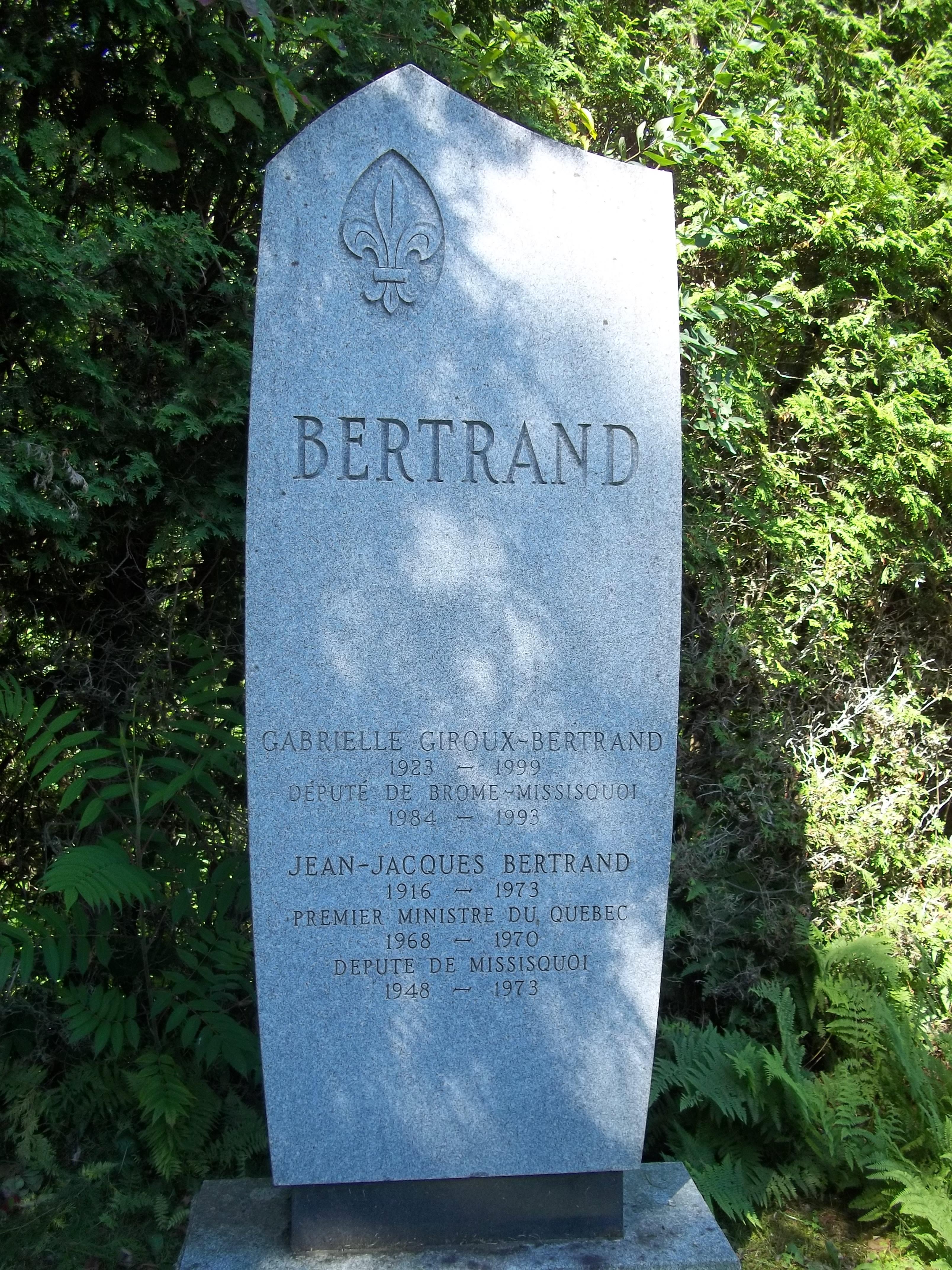 Jean-Jacques Bertrand