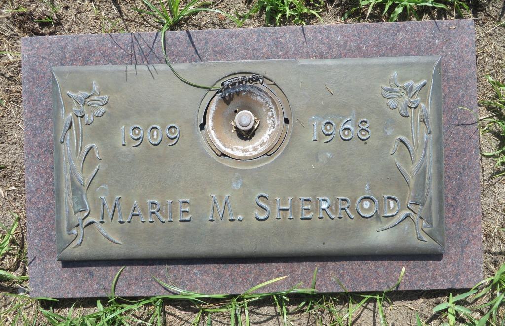 Marie <i>Daniels</i> Sherrod
