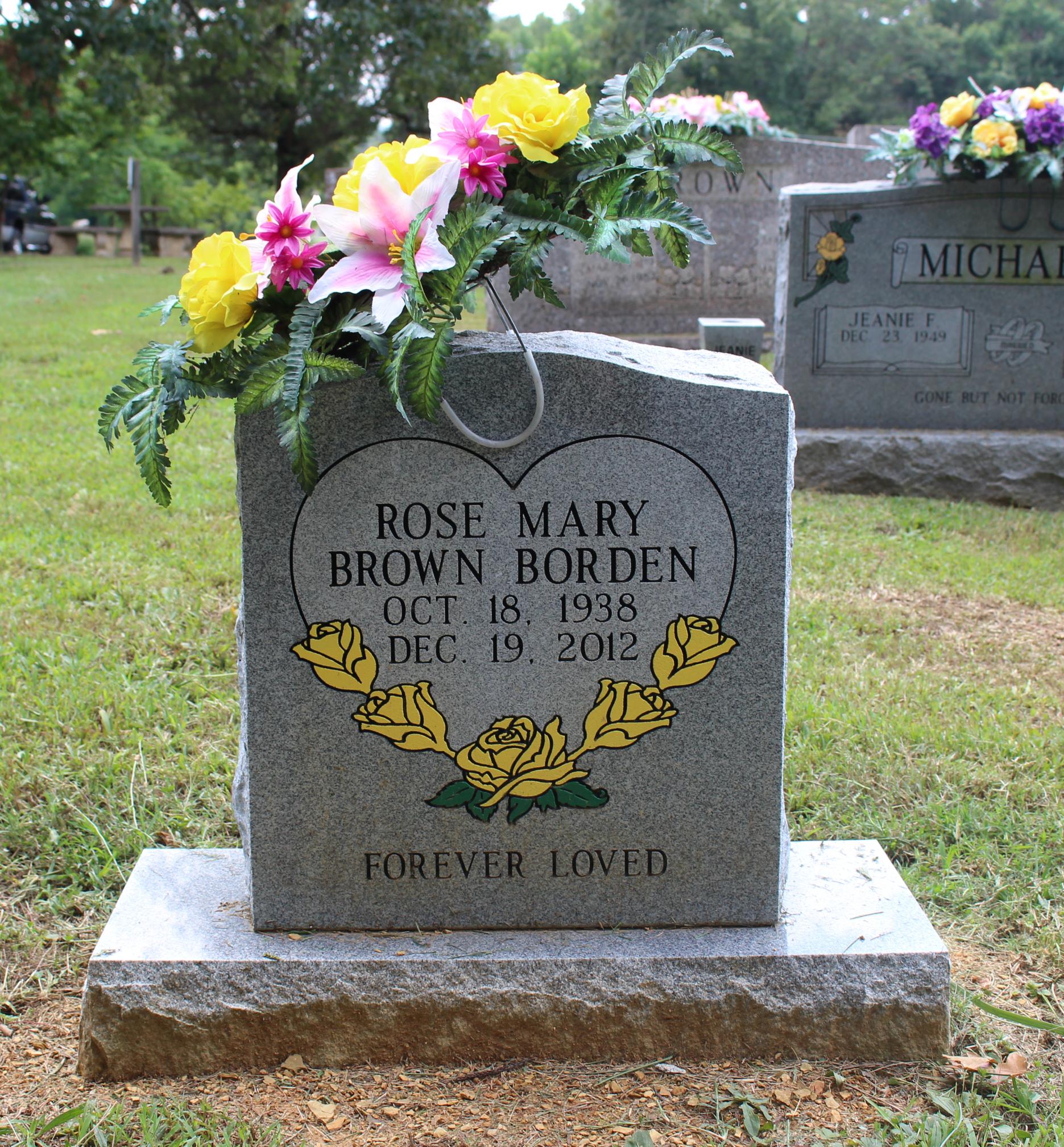Rose Mary <i>Brown</i> Borden