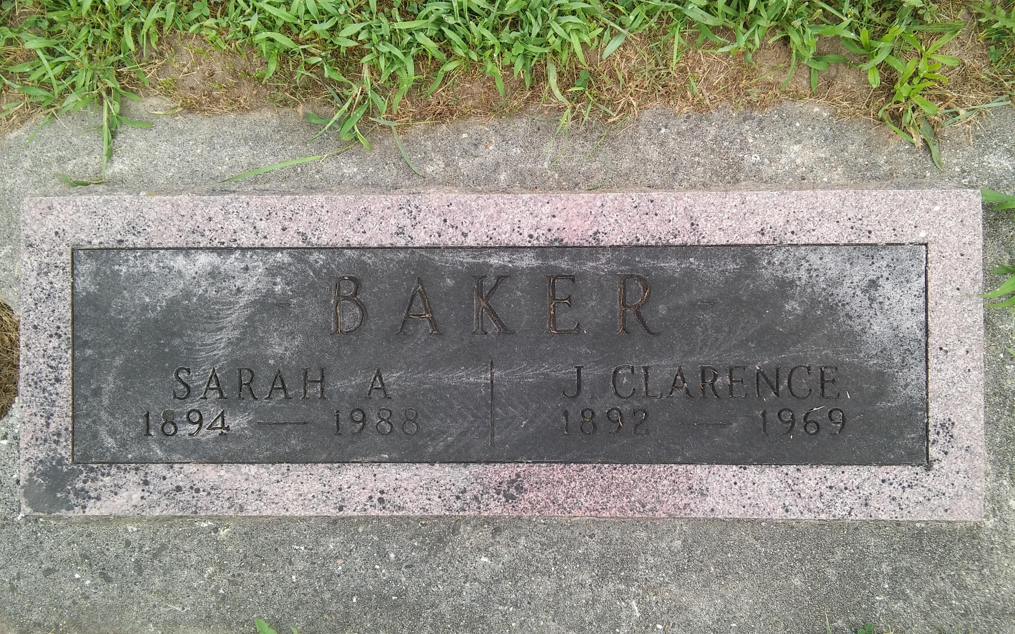 Sarah Anne <i>Hanley</i> Baker