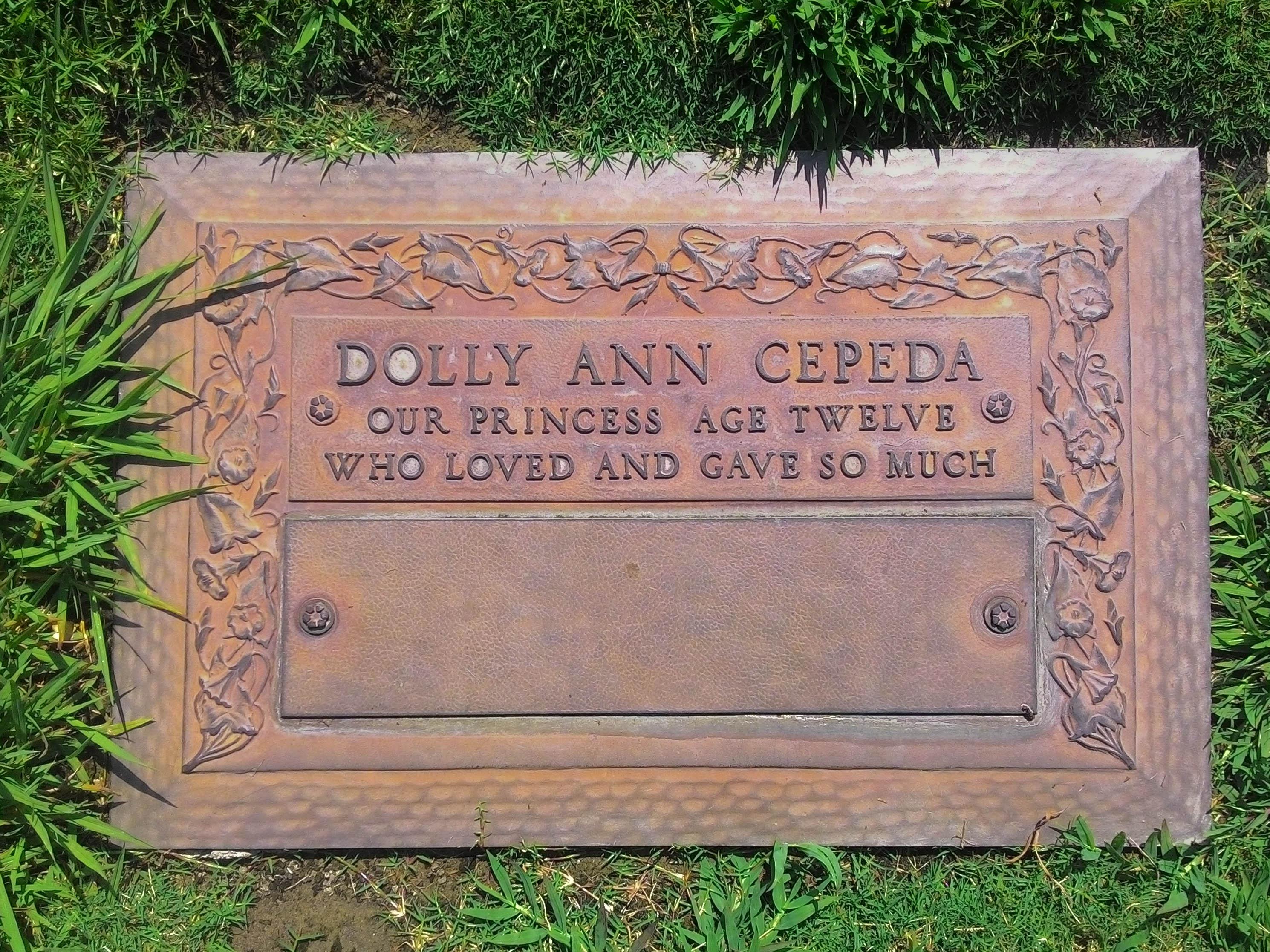Dolores Ann Dolly Cepeda