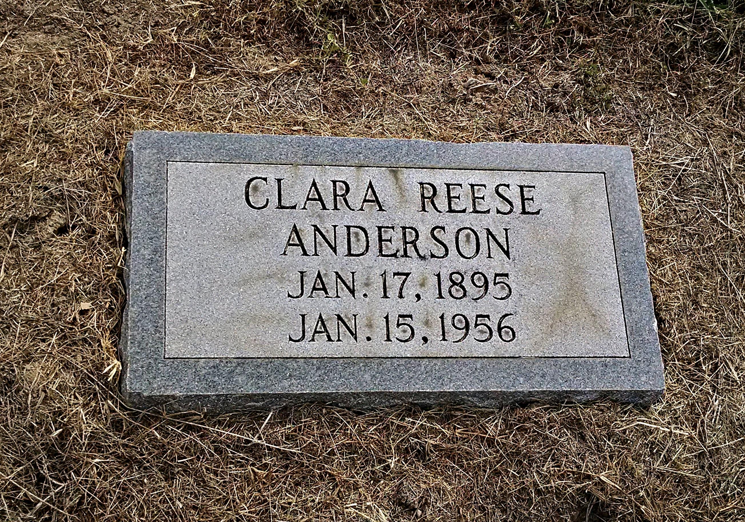 Clara <i>Reese</i> Anderson