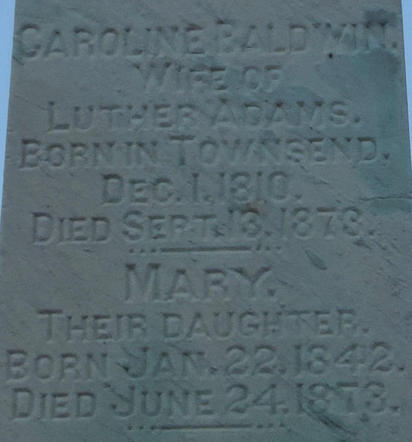 Caroline <i>Baldwin</i> Adams