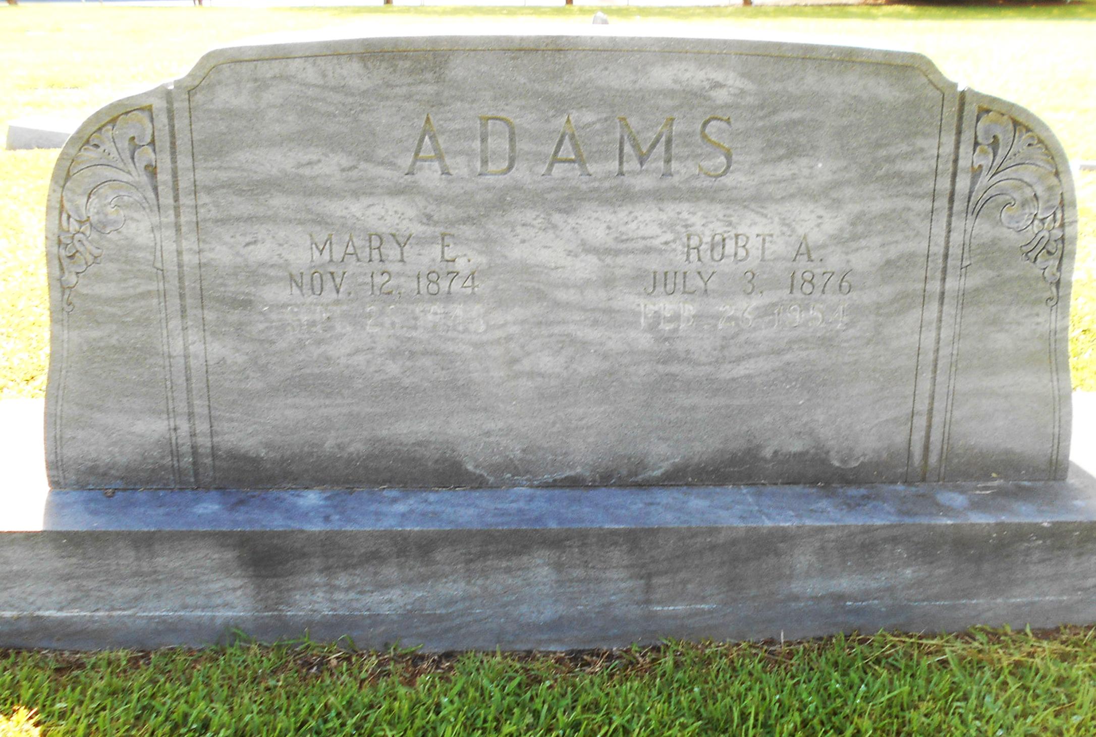Mary Ellen <i>Dixon</i> Adams