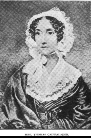 Mary <i>Biddle</i> Cadwalader