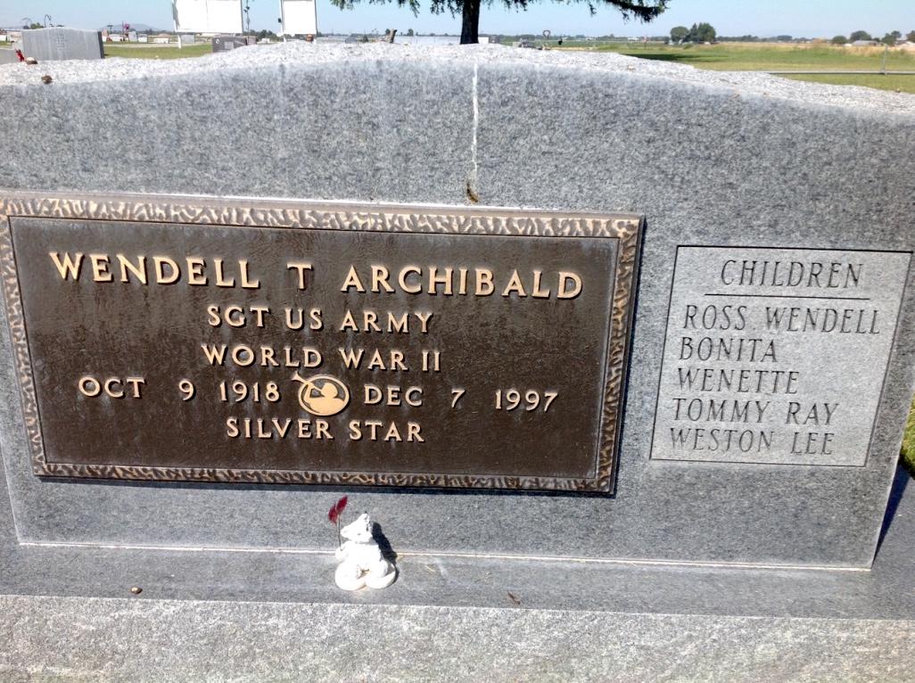 Wendell Thomas Archibald