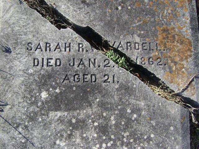 Sarah Rebecca <i>Lamar</i> Vardell