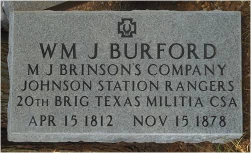 William J Burford