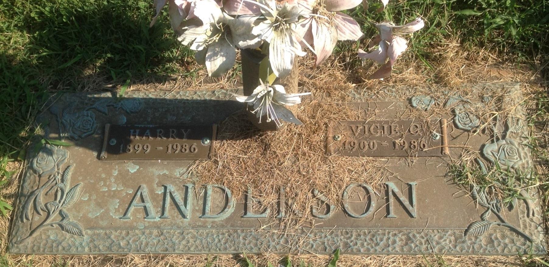 Vicie Corinne Jaco Anderson (1900-1986) - Find A Grave Memorial