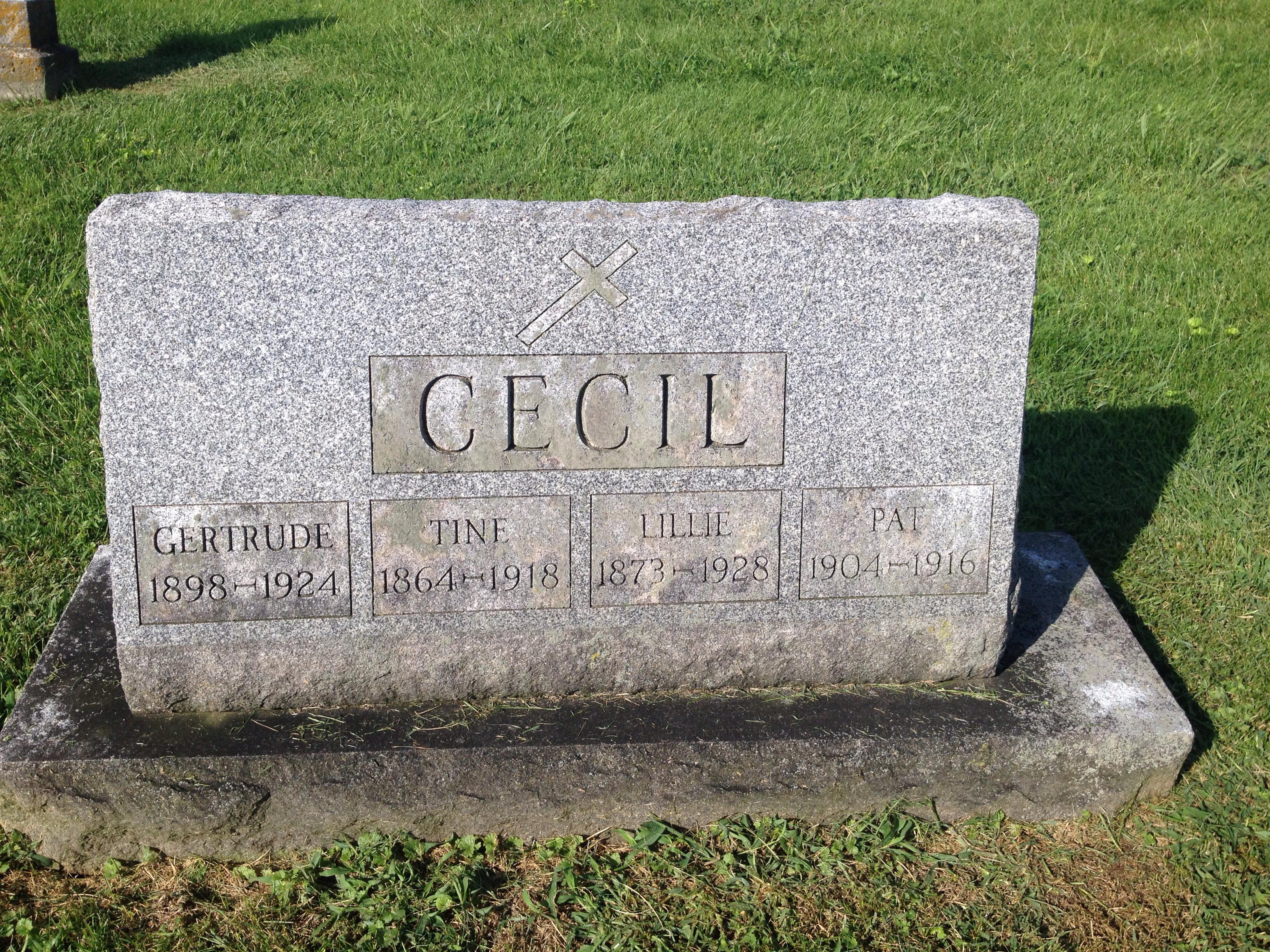 Ignatius Constantine Tine Cecil
