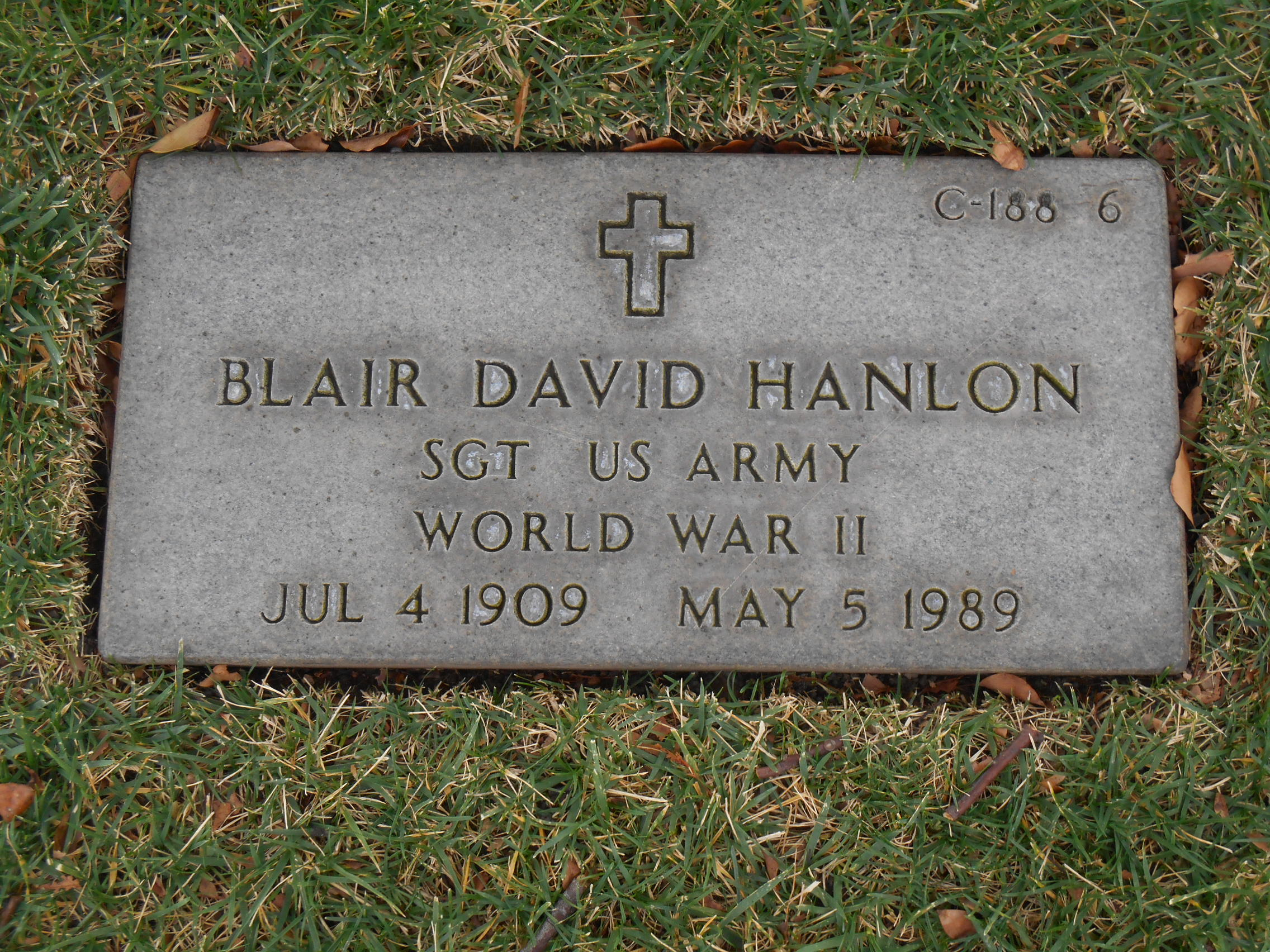 Blair David Hanlon