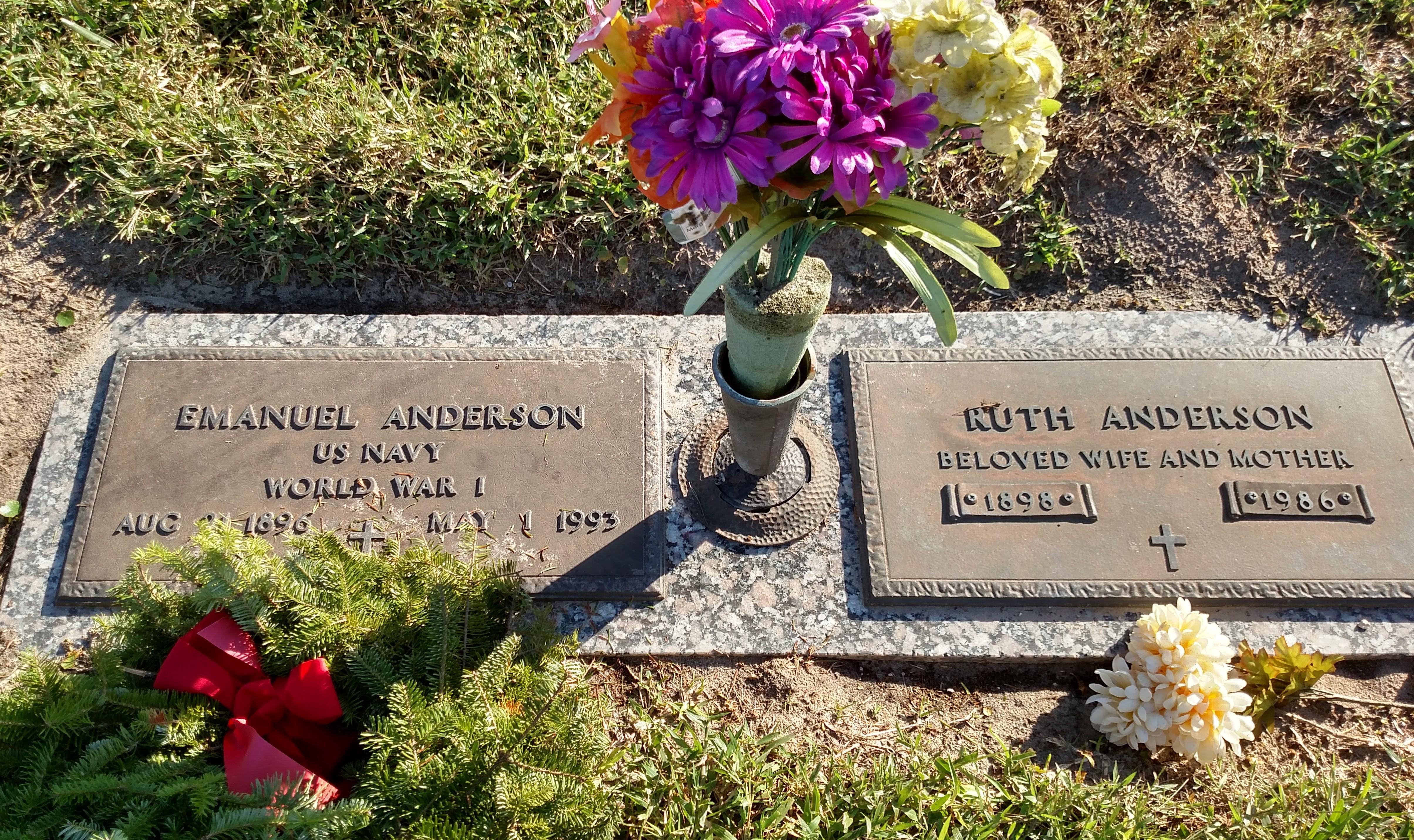Ruth <i>Johnson</i> Anderson