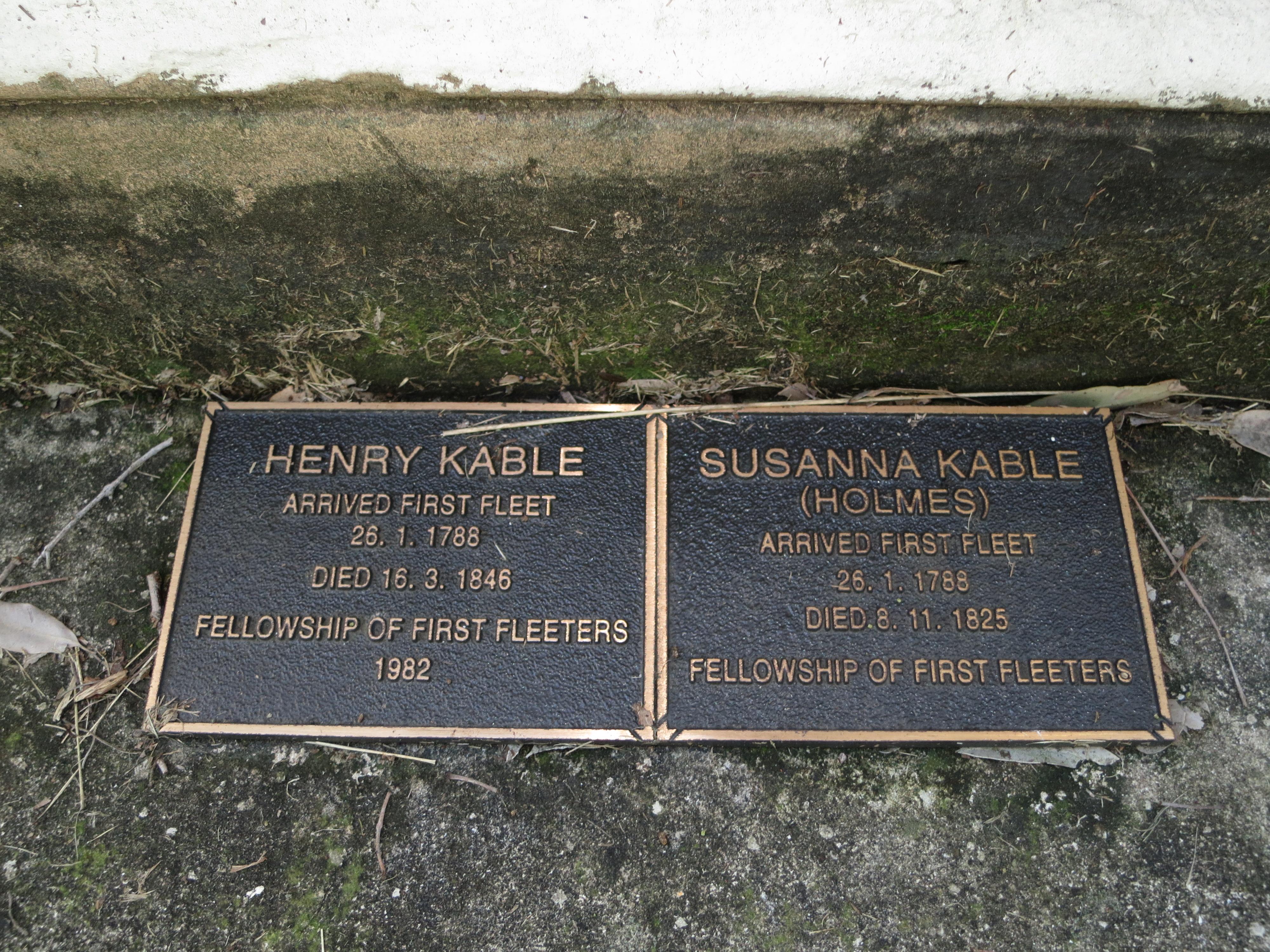 Kable Row Names