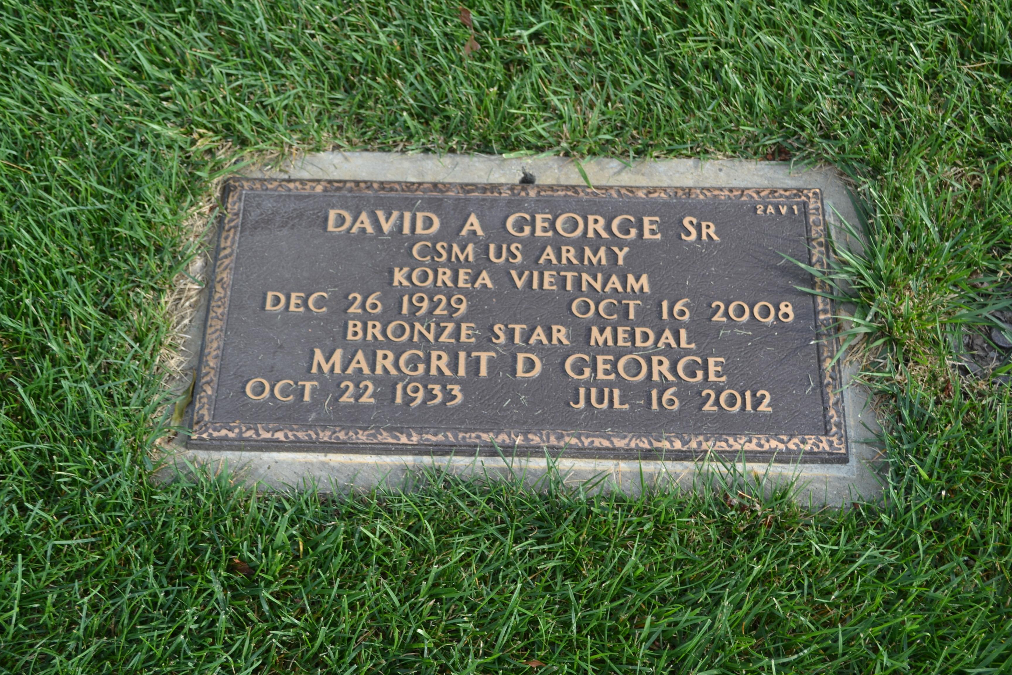 David Alexander George, Sr