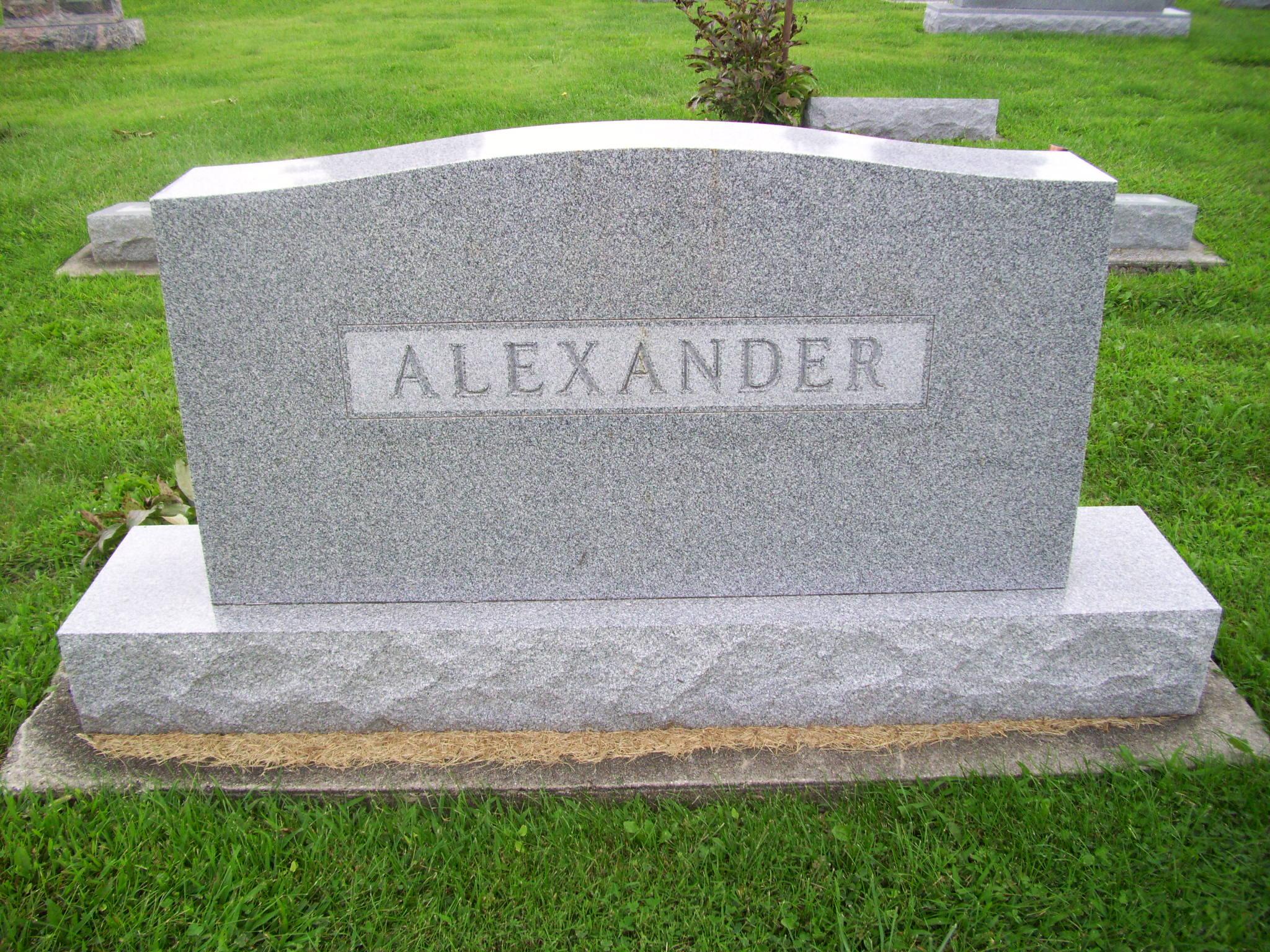 Harold T Alexander