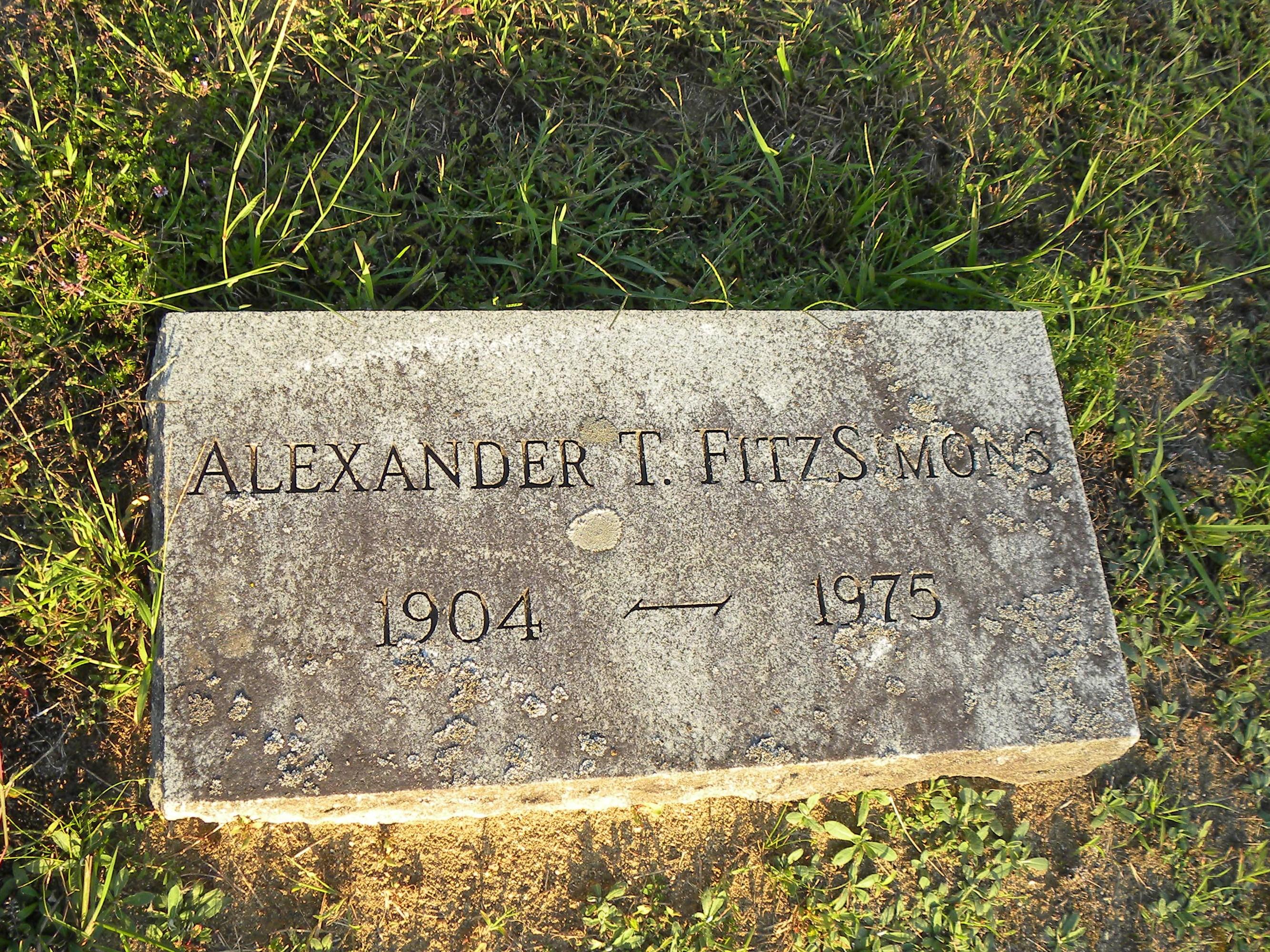 Alexander Thomas FitzSimons
