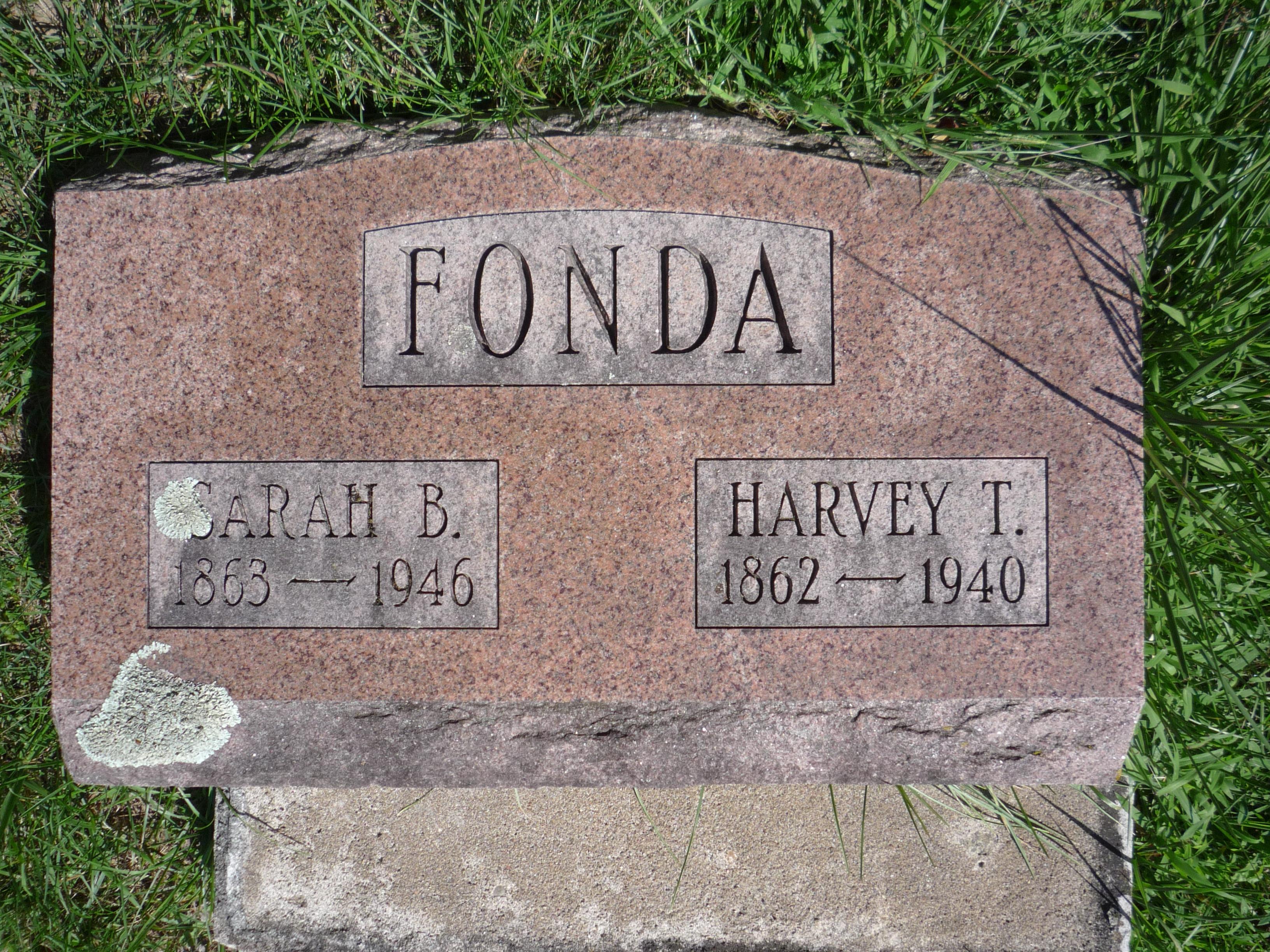 Sarah B. <i>Bachman</i> Fonda