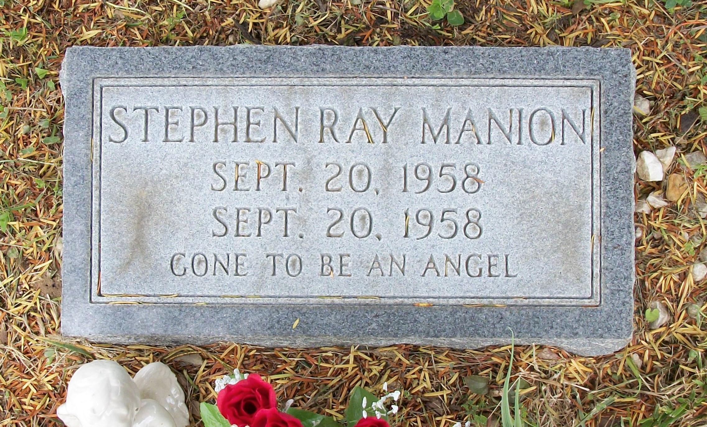 Stephen Ray Manion