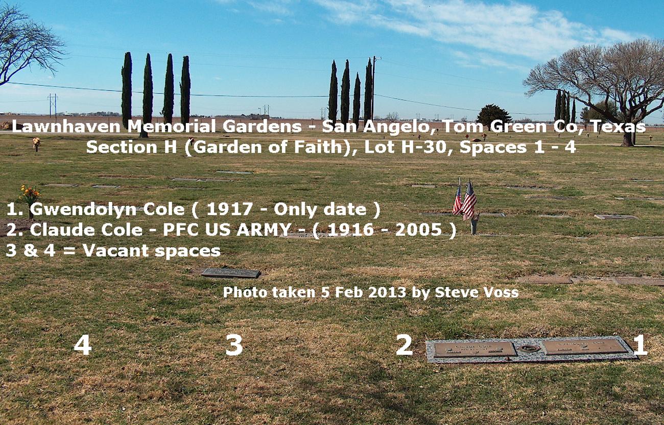 Claude Vinson Cole (1916-2005) - Find A Grave Memorial