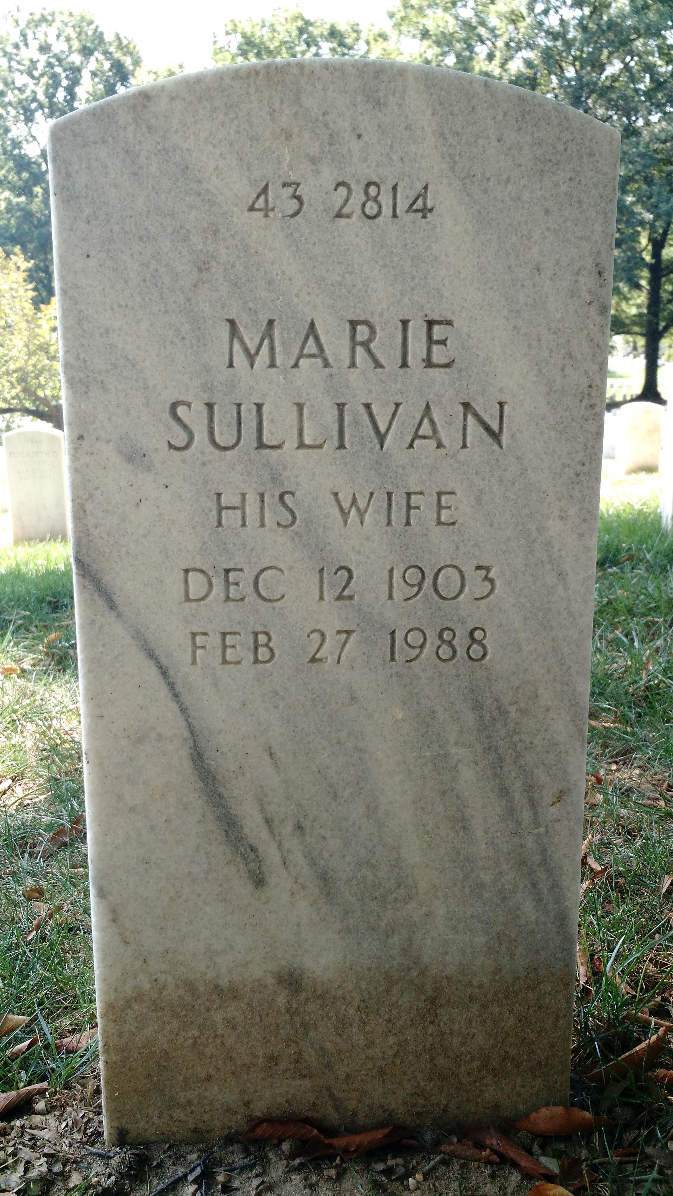 Marie <i>Sullivan</i> Blair