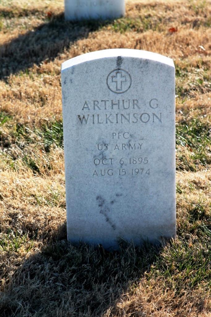 Arthur G Wilkinson