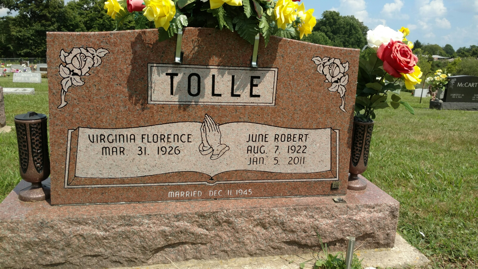 Virginia Florence Osman Tolle (1926-Unknown) - Find A Grave Memorial