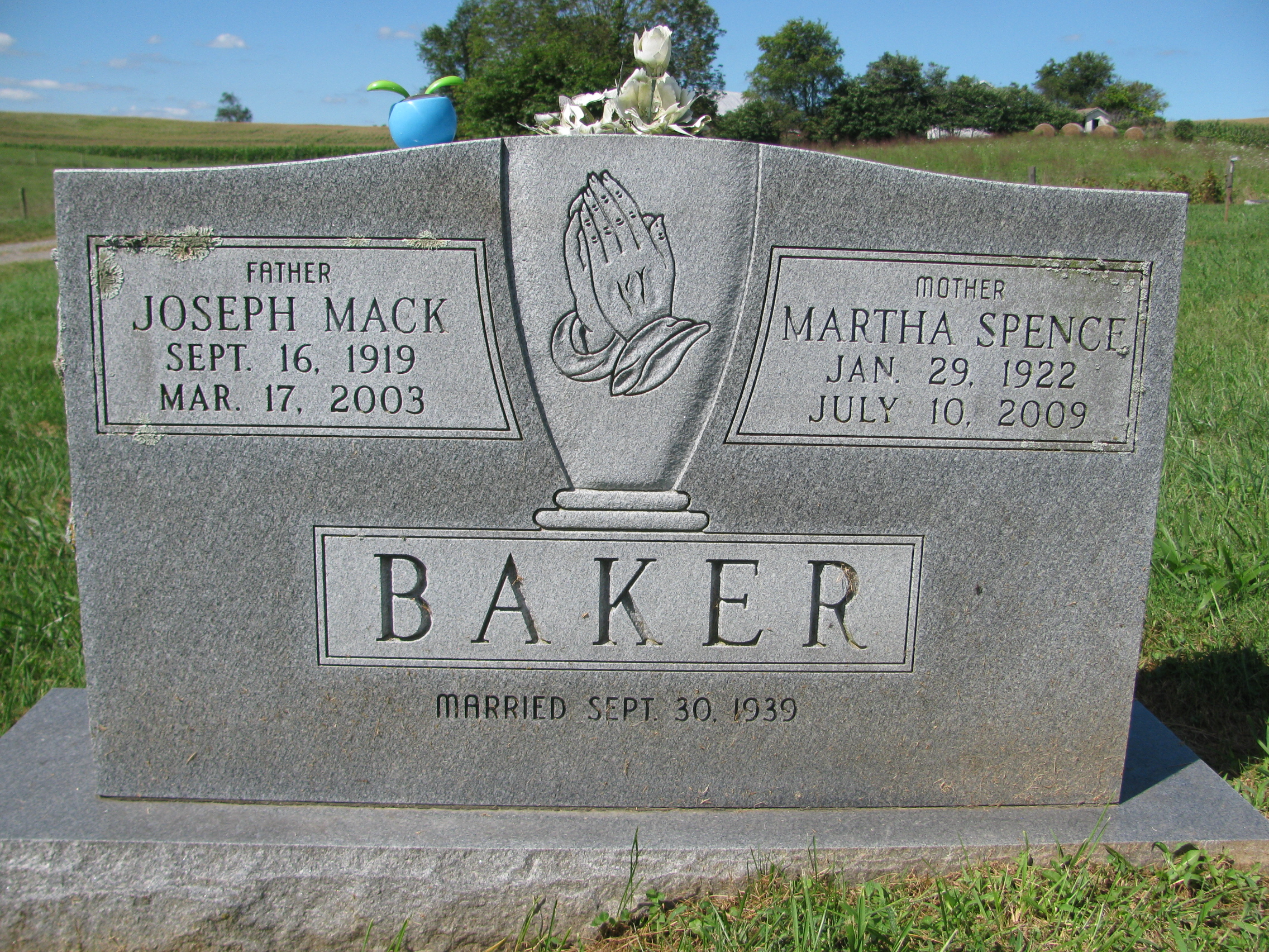 Martha Virginia <i>Spence</i> Baker