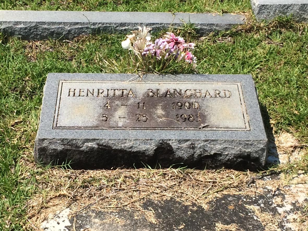Henrietta Blanchard