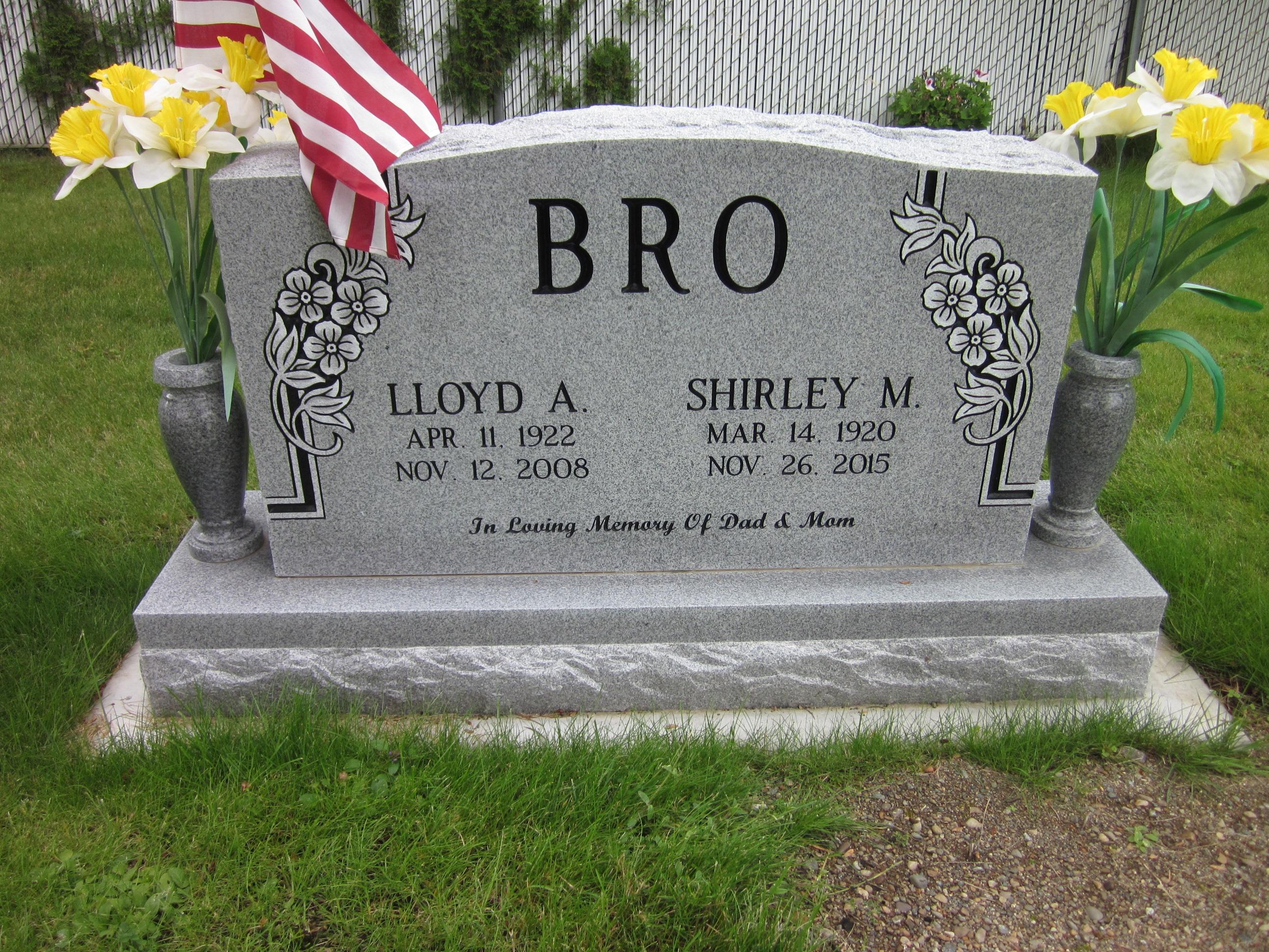 buy popular 4d960 1daa3 Lloyd A Bro (1922-2008) - Find A Grave Memorial