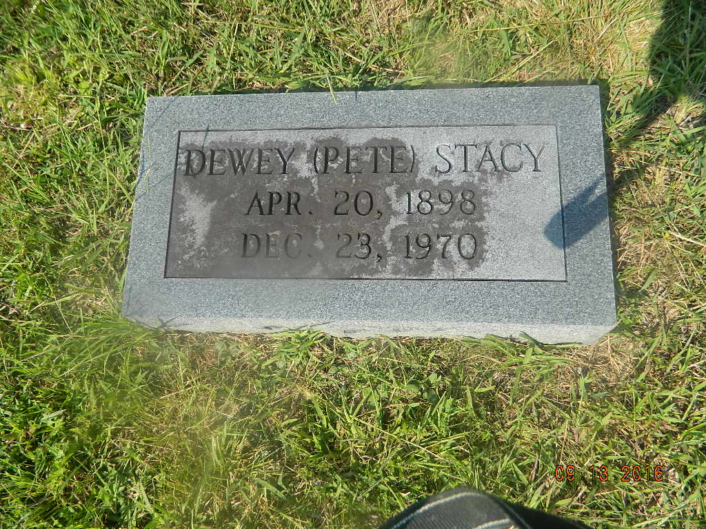 Felix Dewey Pete Stacy