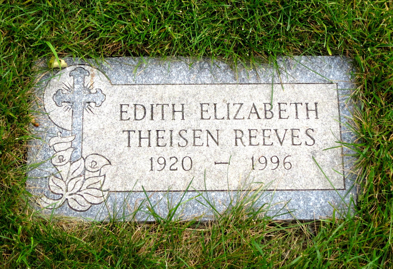 Watch Edith Reeves video