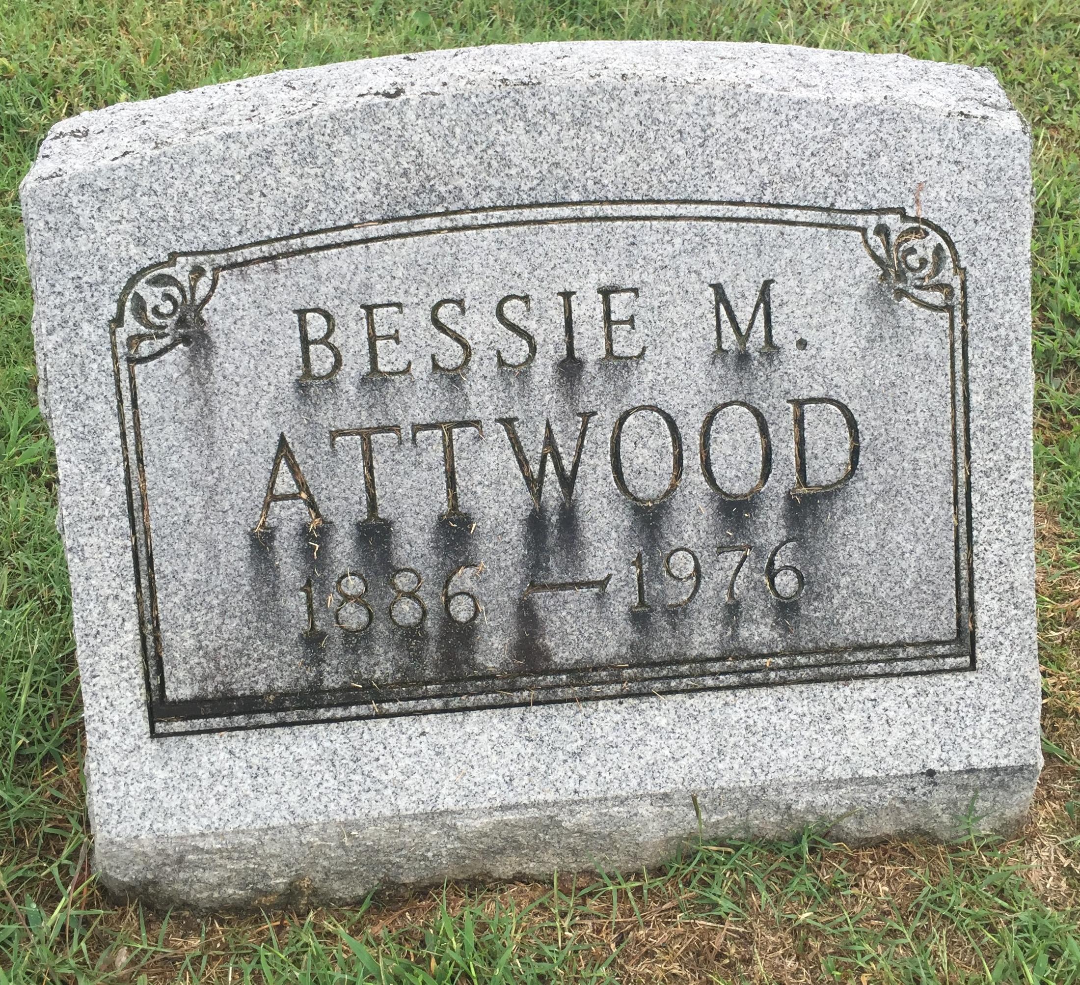 Bessie Mirtle <i>Kemp</i> Atwood