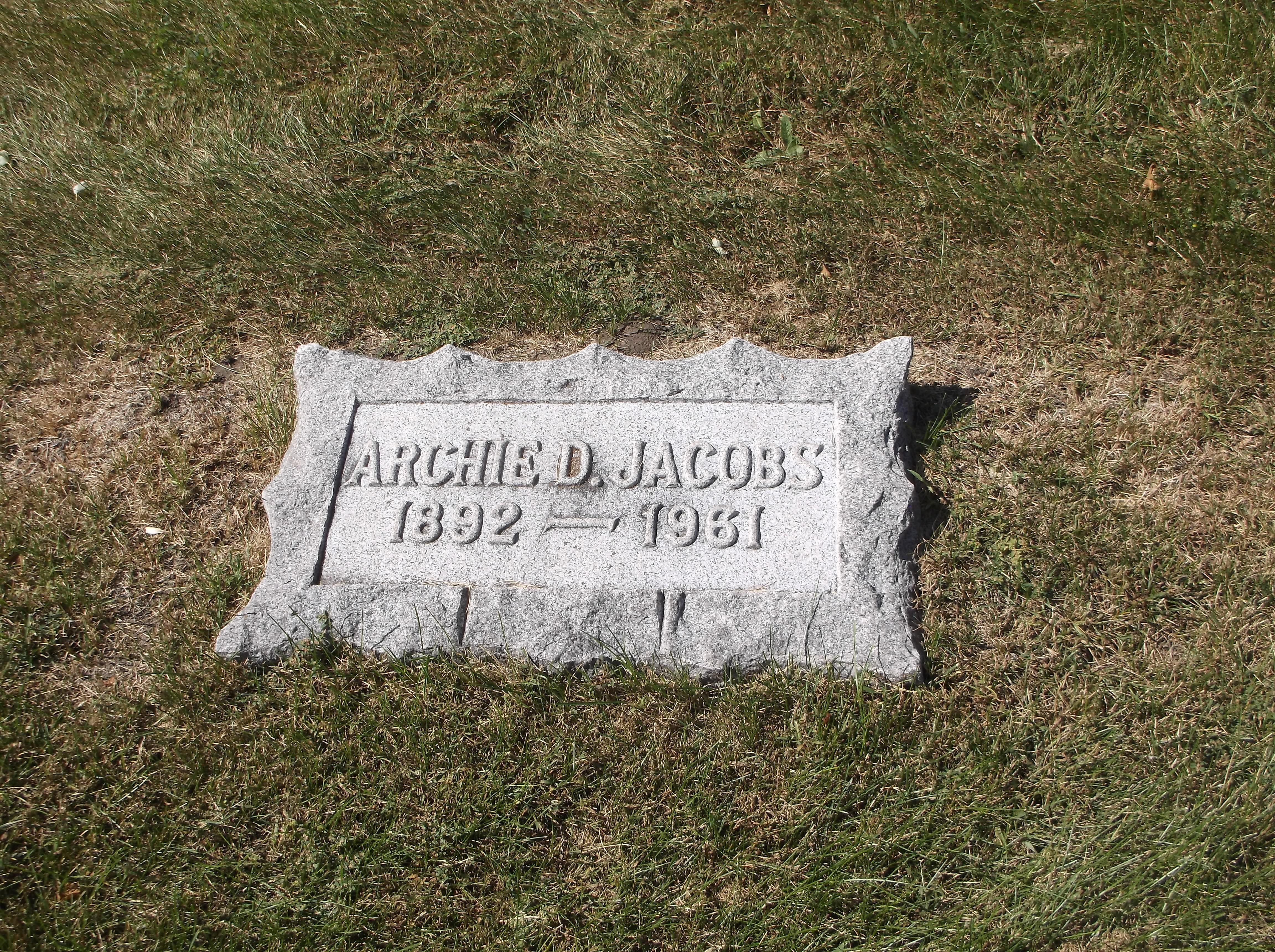Archie Dean Jacobs
