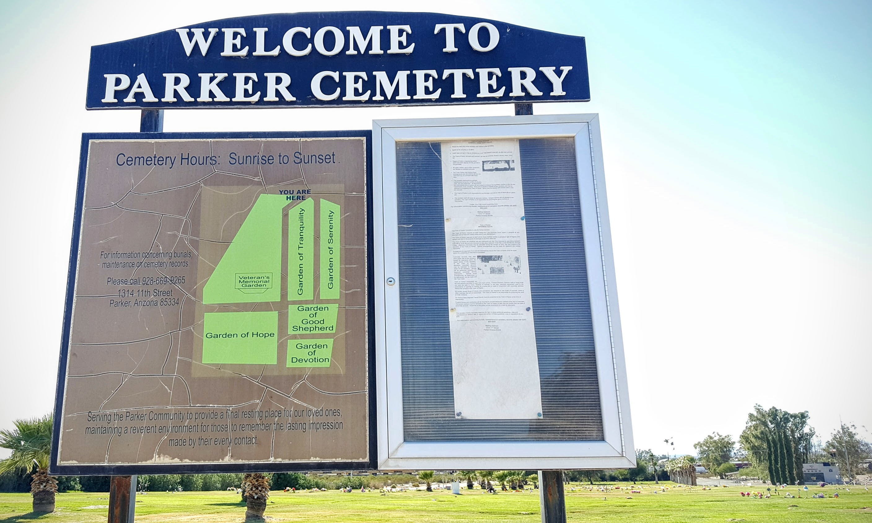 Parker Community Cemetery