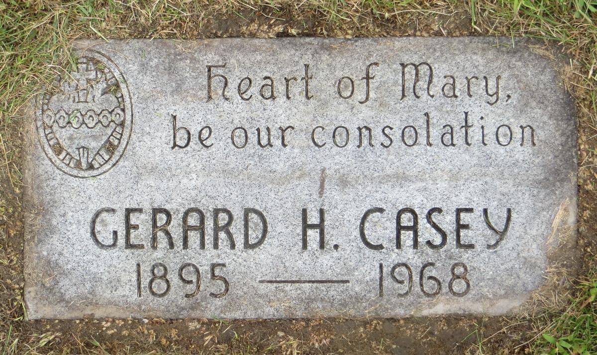 Gerard Henry Jerry Casey