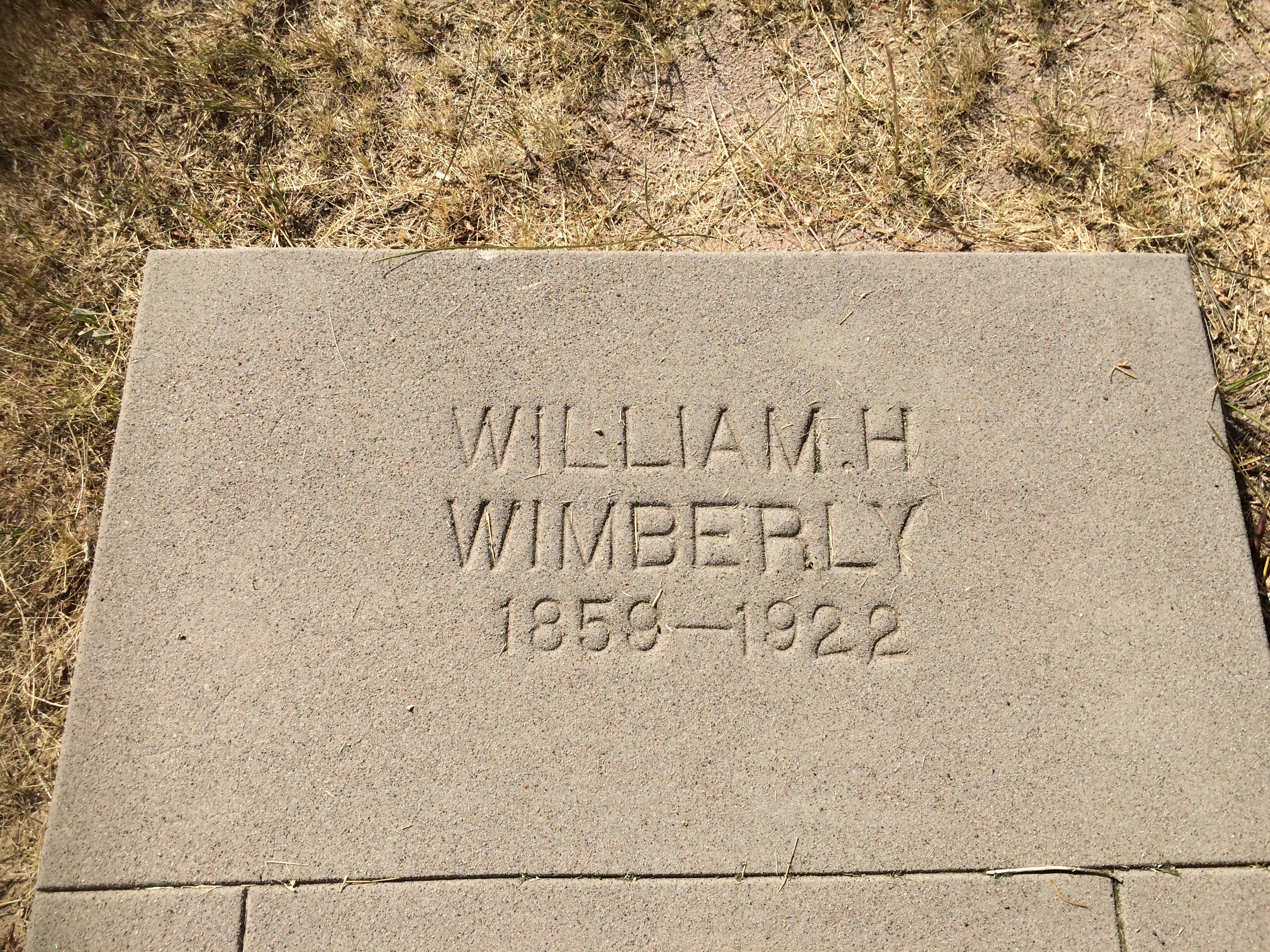 William Hickman Hick Wimberley