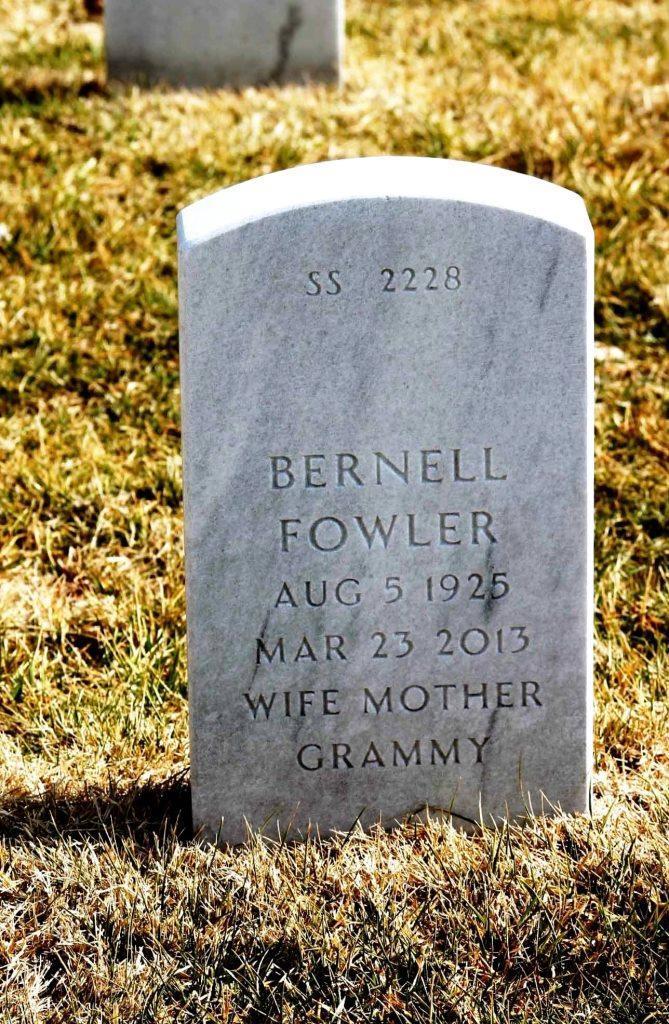Bernell <i>Scott</i> Fowler