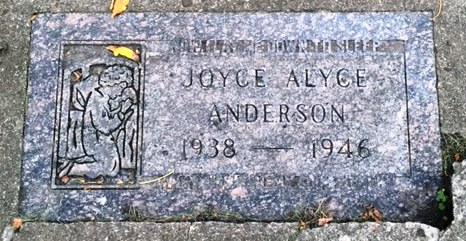 Joyce Alyce Anderson 1938 1946 Find A Grave Memorial Last seen feb 23, 2018. find a grave