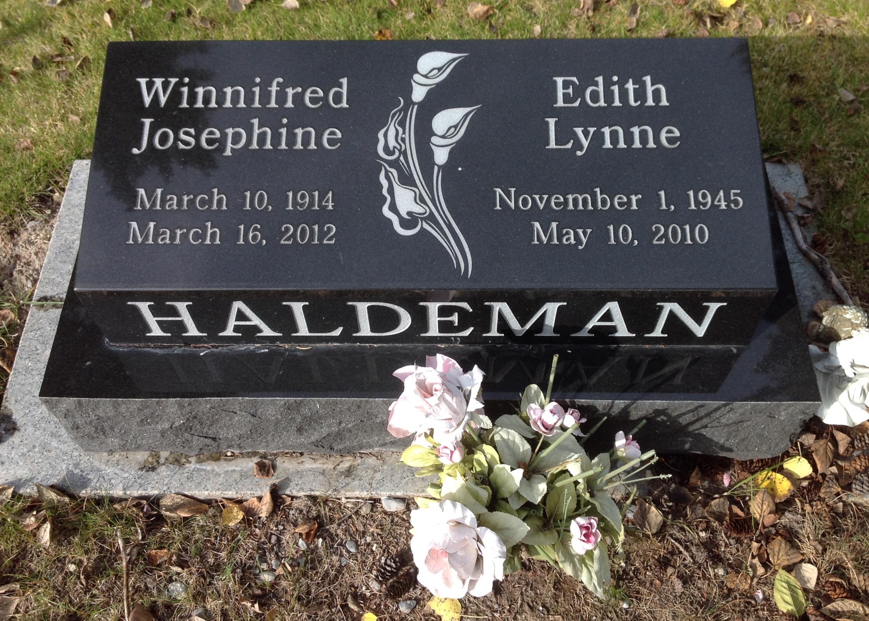 Watch Edith Haldeman video