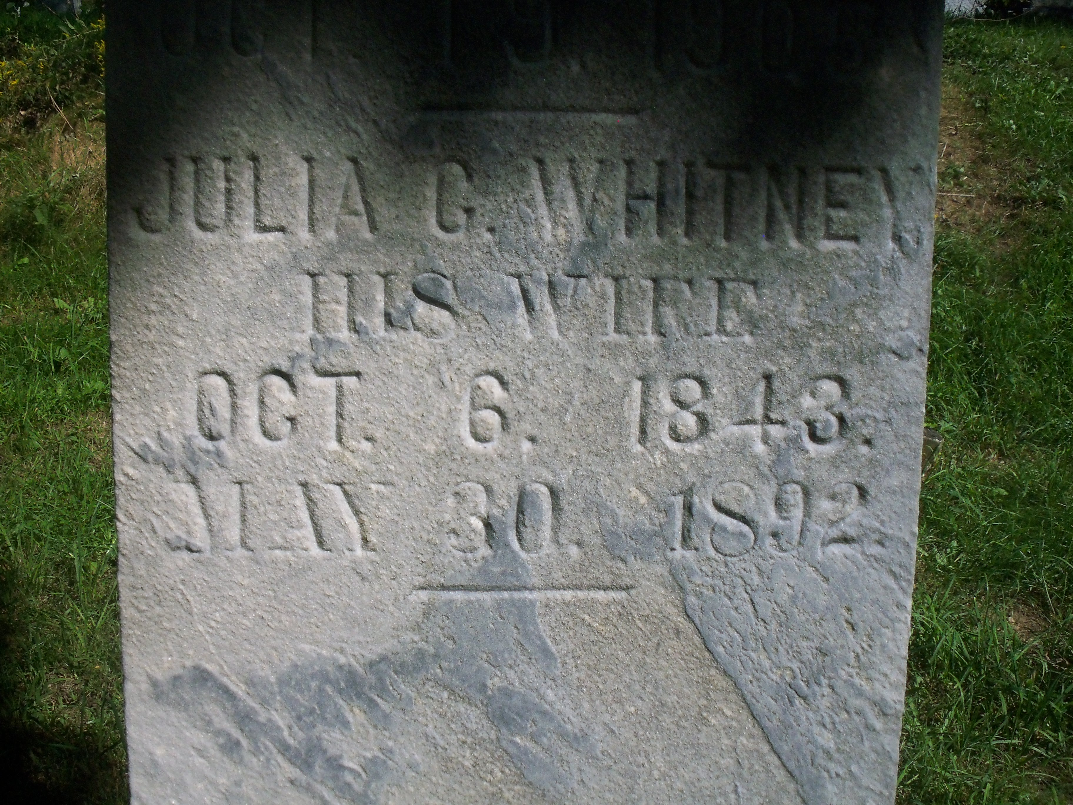 Julia C <i>Whitney</i> McLaughlin
