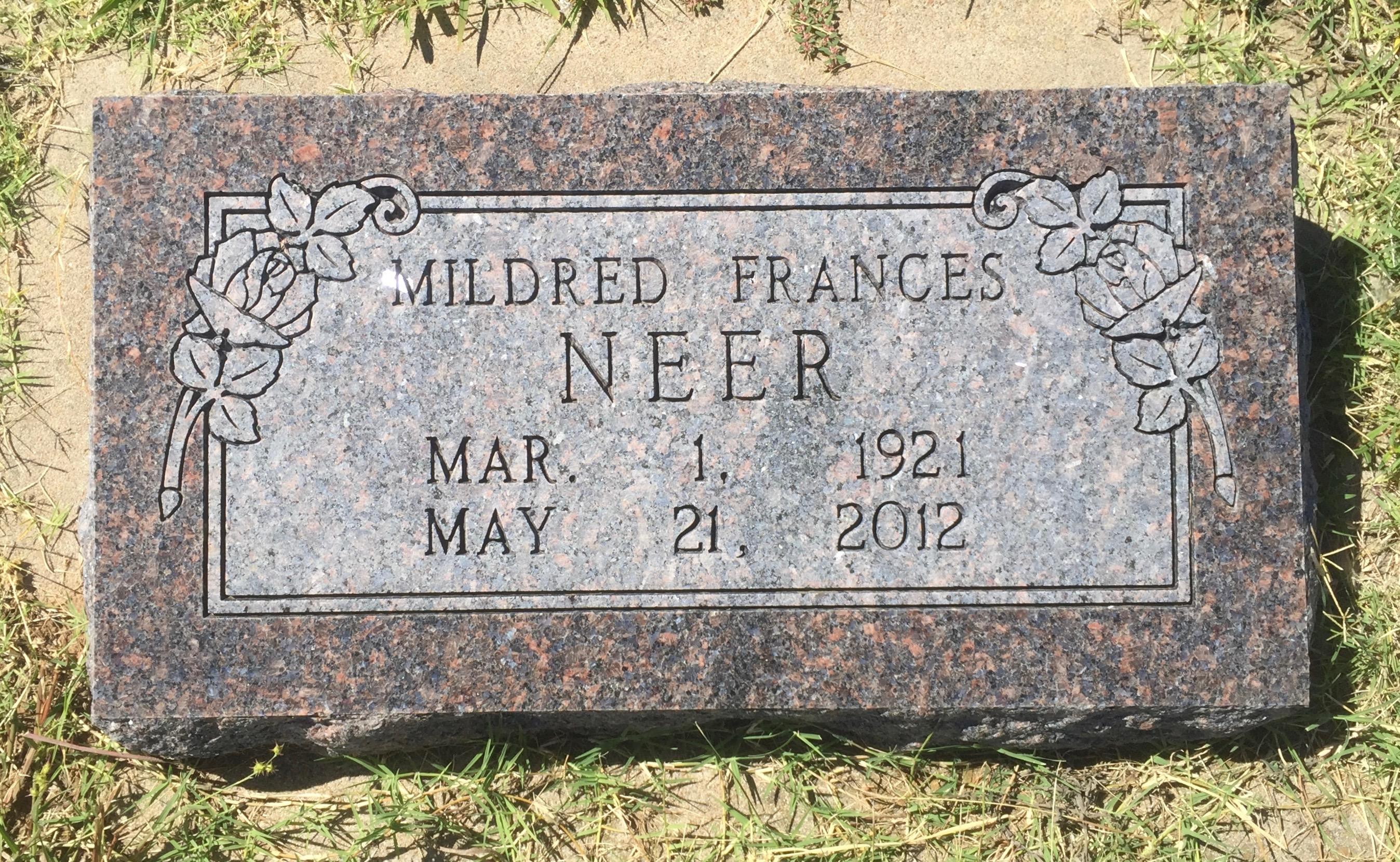 Mildred Francis <i>Earp</i> Neer