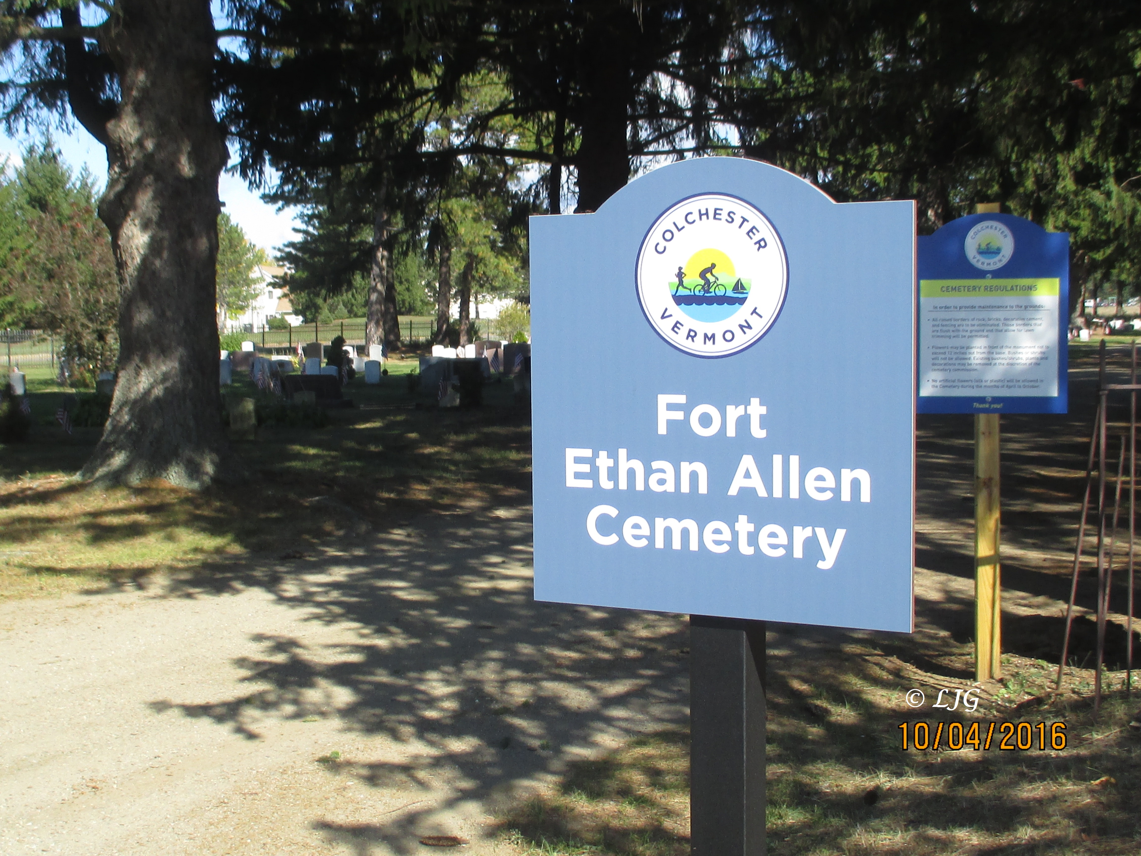 Fort Ethan Allen Cemetery