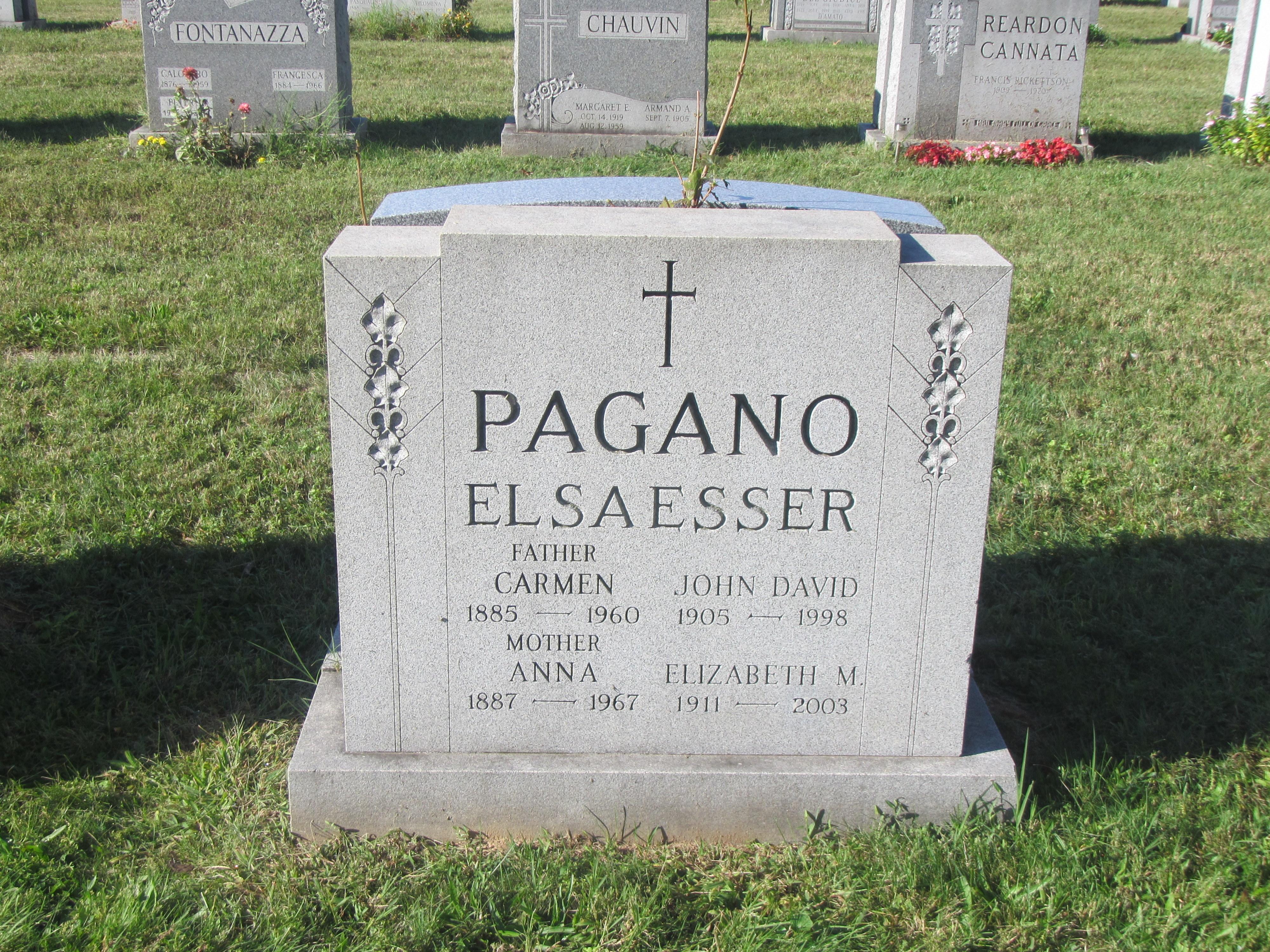 Elizabeth <i>Pagano</i> Elsaesser