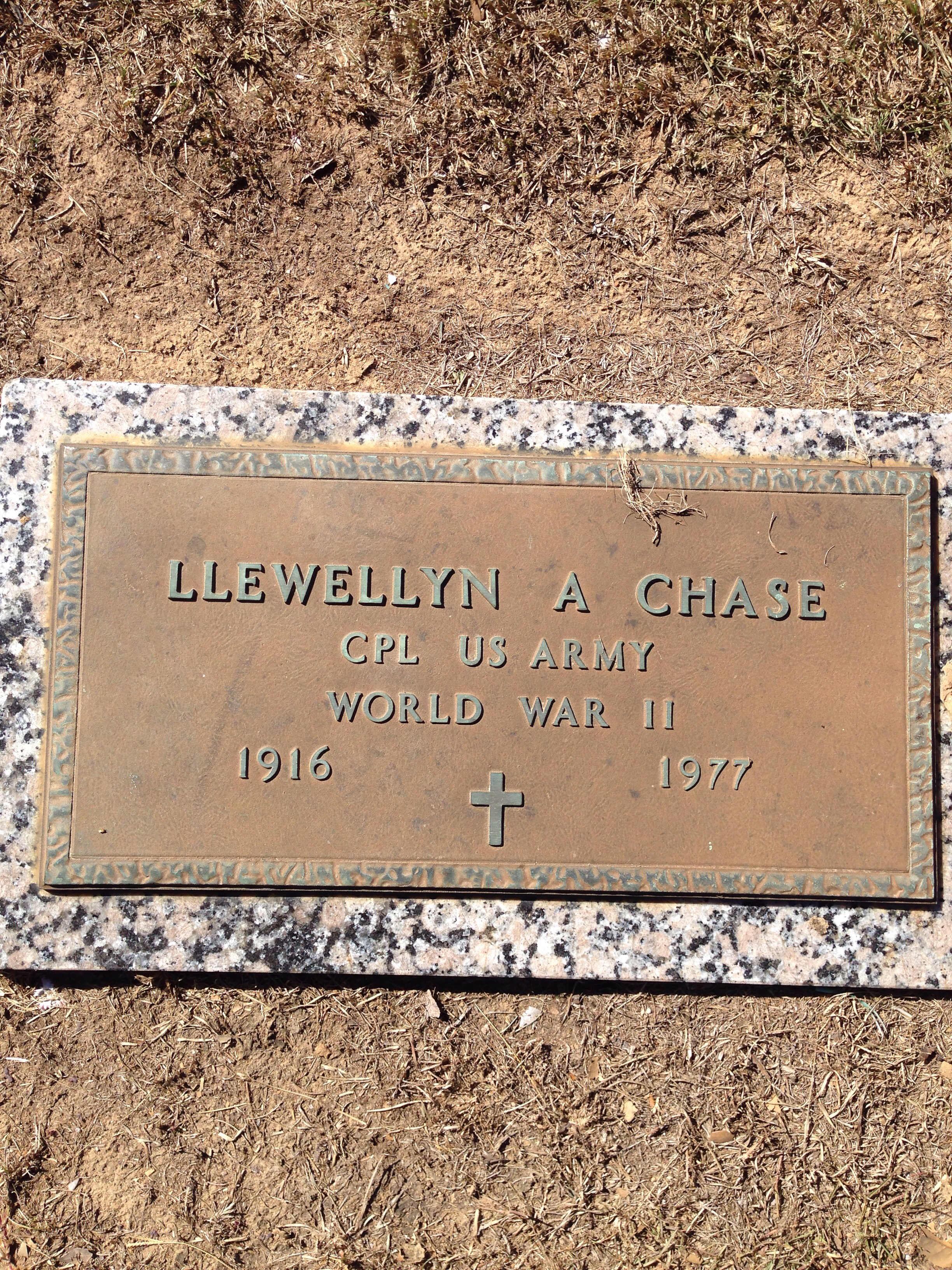 Llewellyn A. Chase (1916-1977) - Find A Grave Memorial