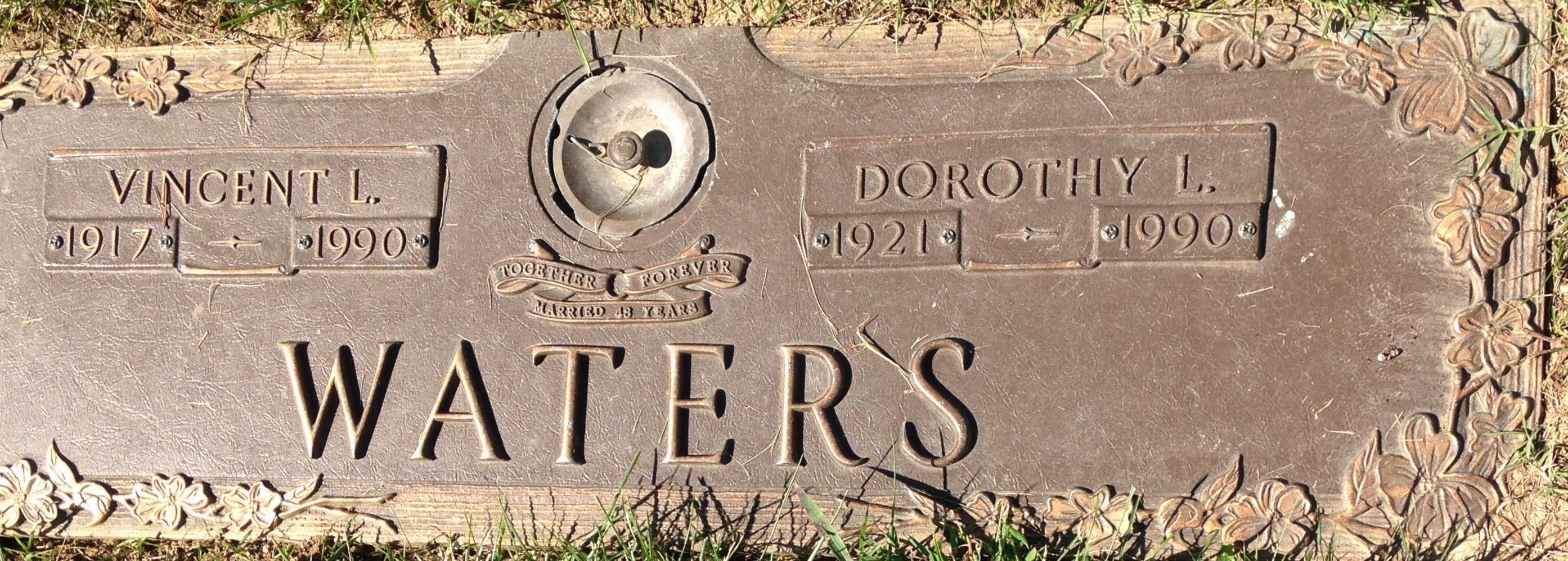 Vincent L Waters (1917-1990) - Find A Grave Memorial