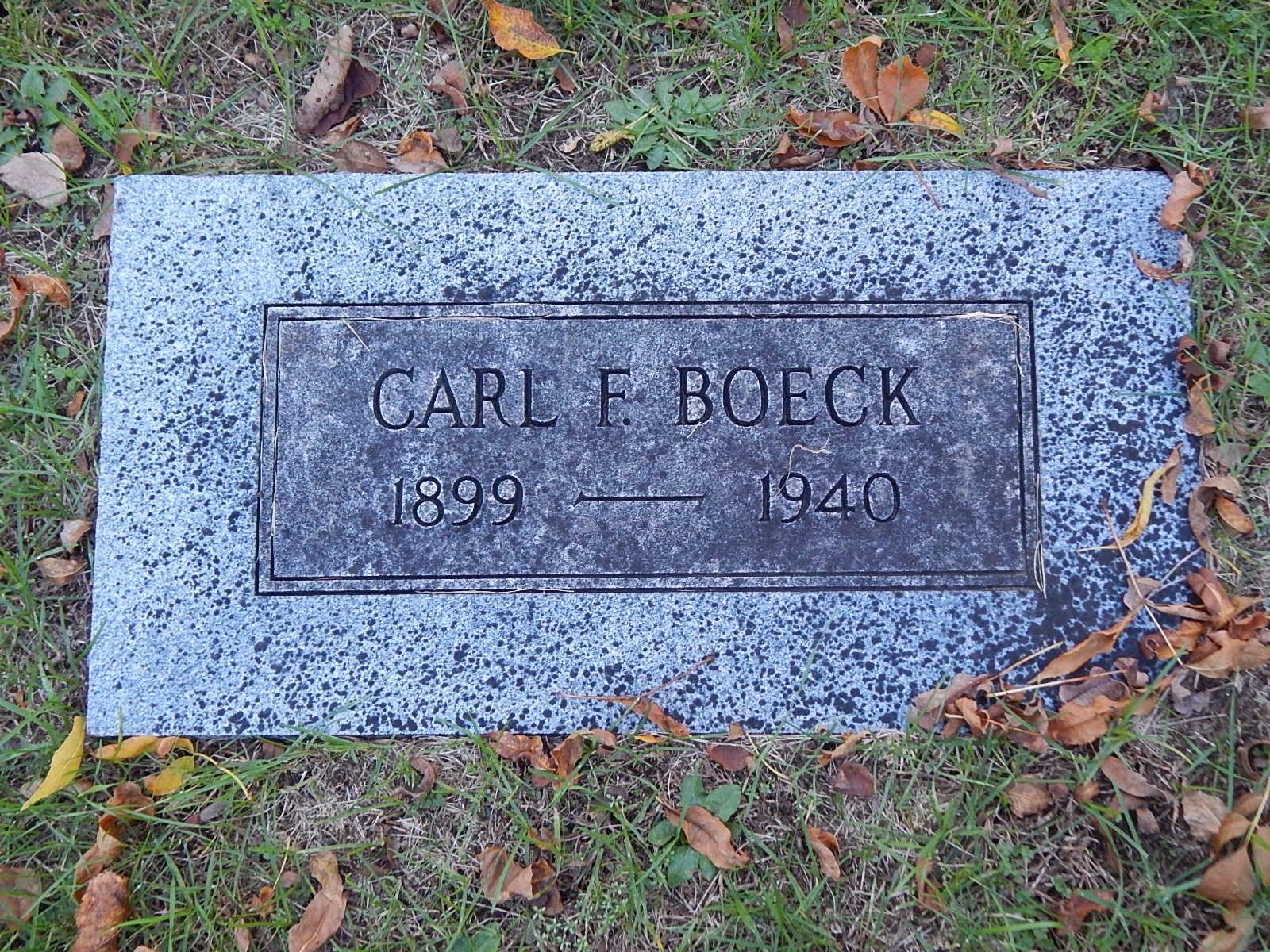 Carl F. Boeck
