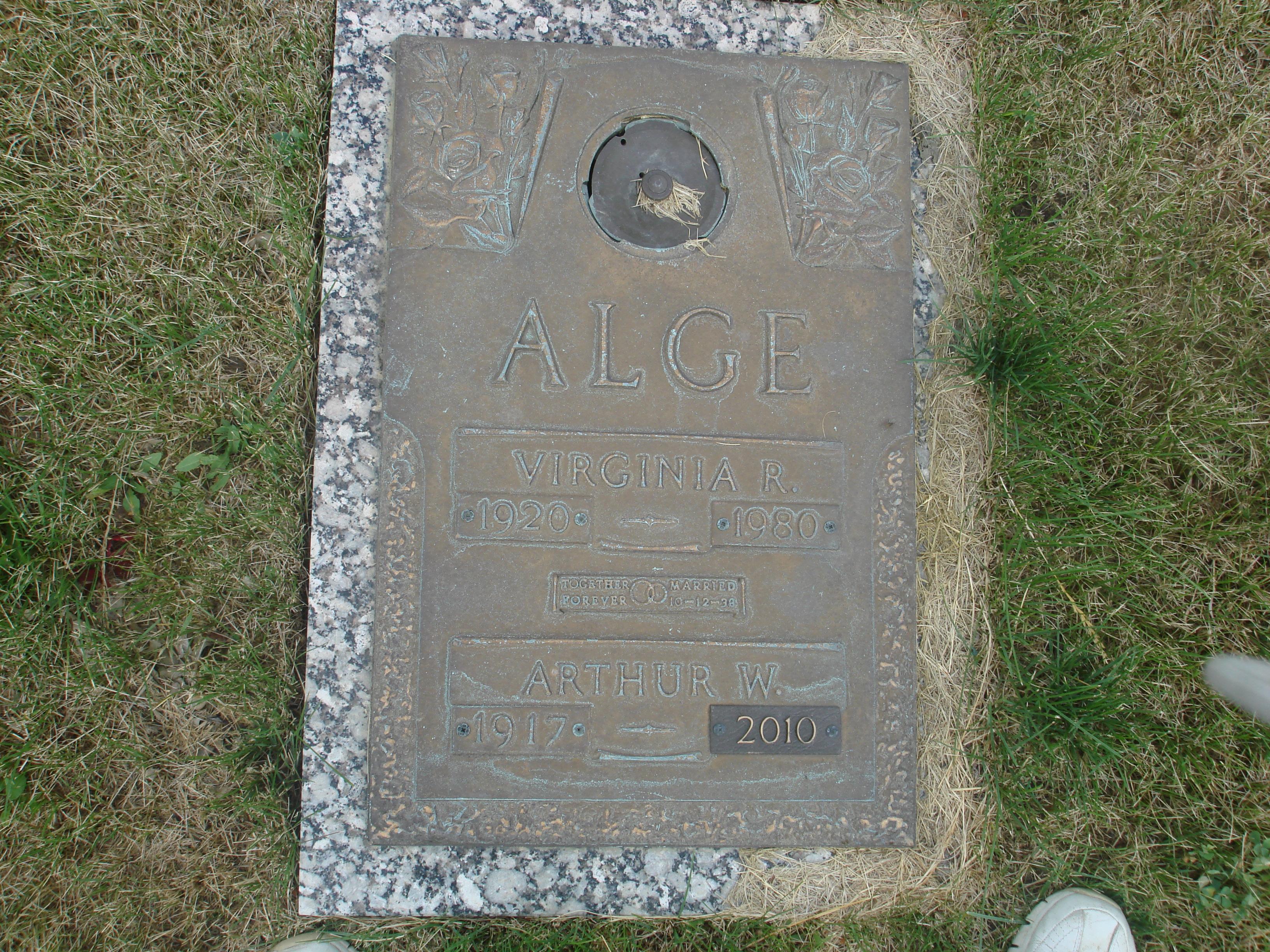 Arthur William Alge