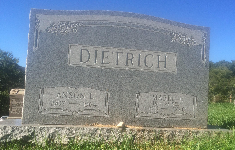 Mabel I <i>Seidel</i> Dietrich