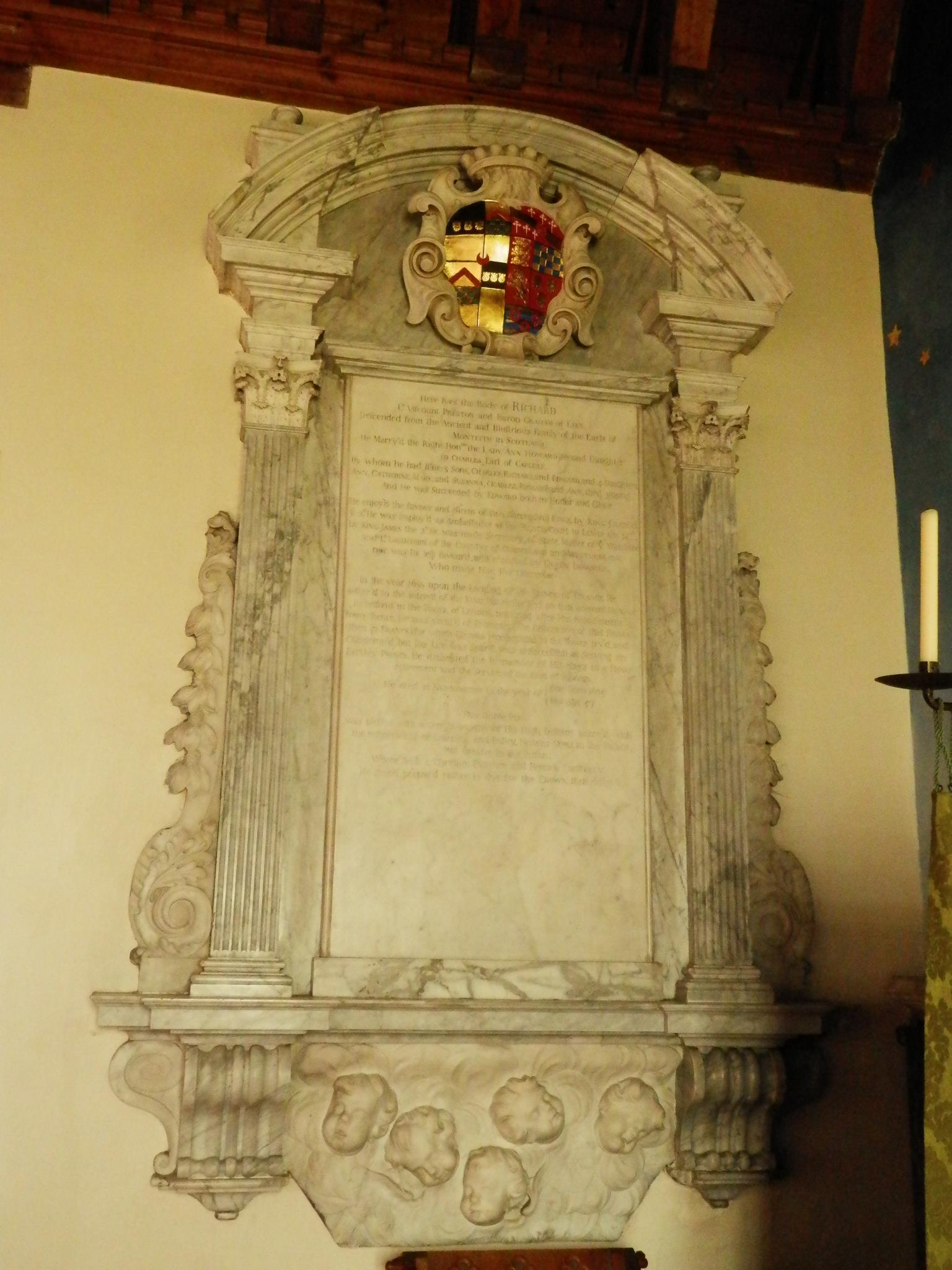 Richard Graham, 1st Viscount Preston