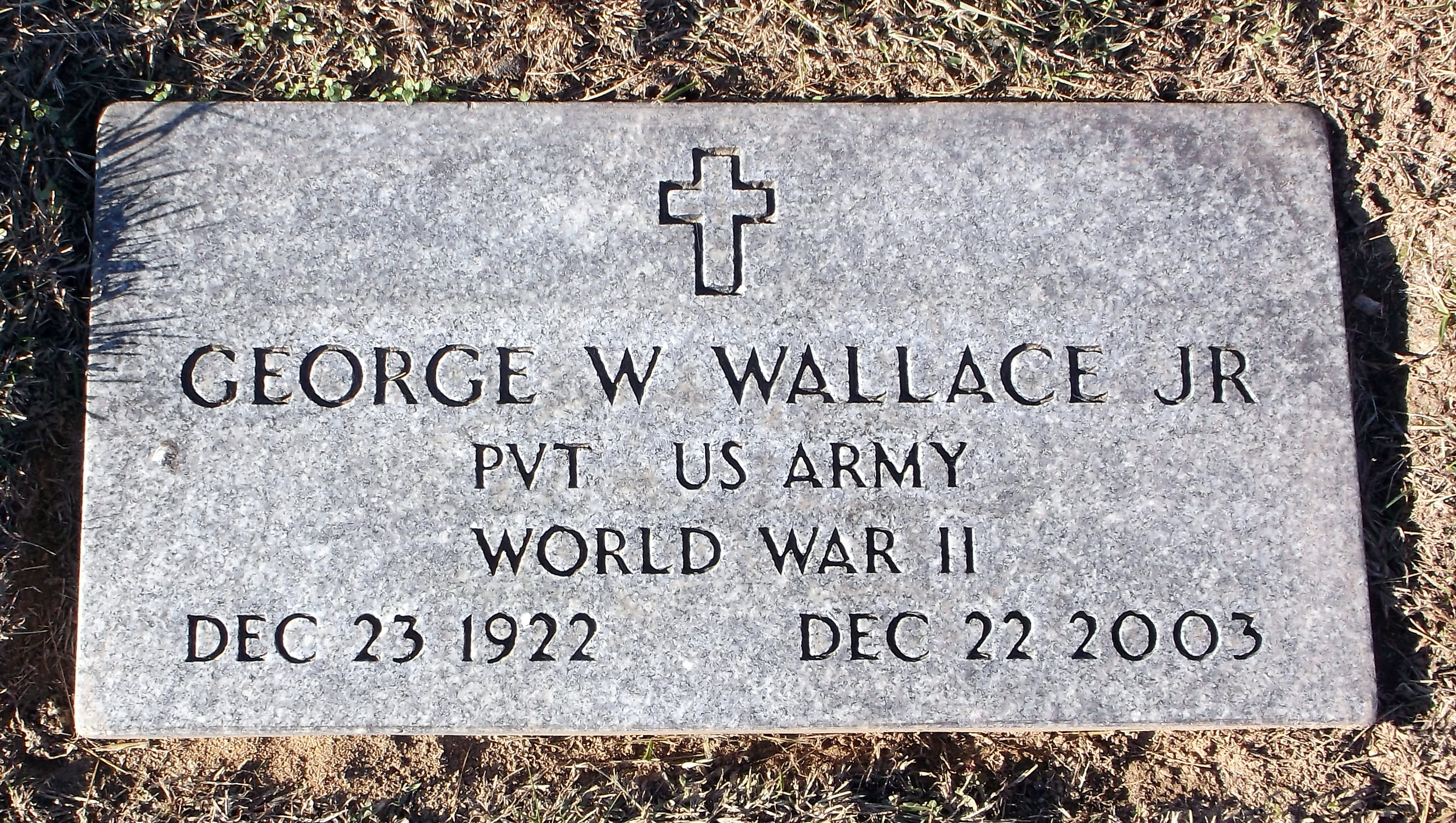 George W Wallace, Jr